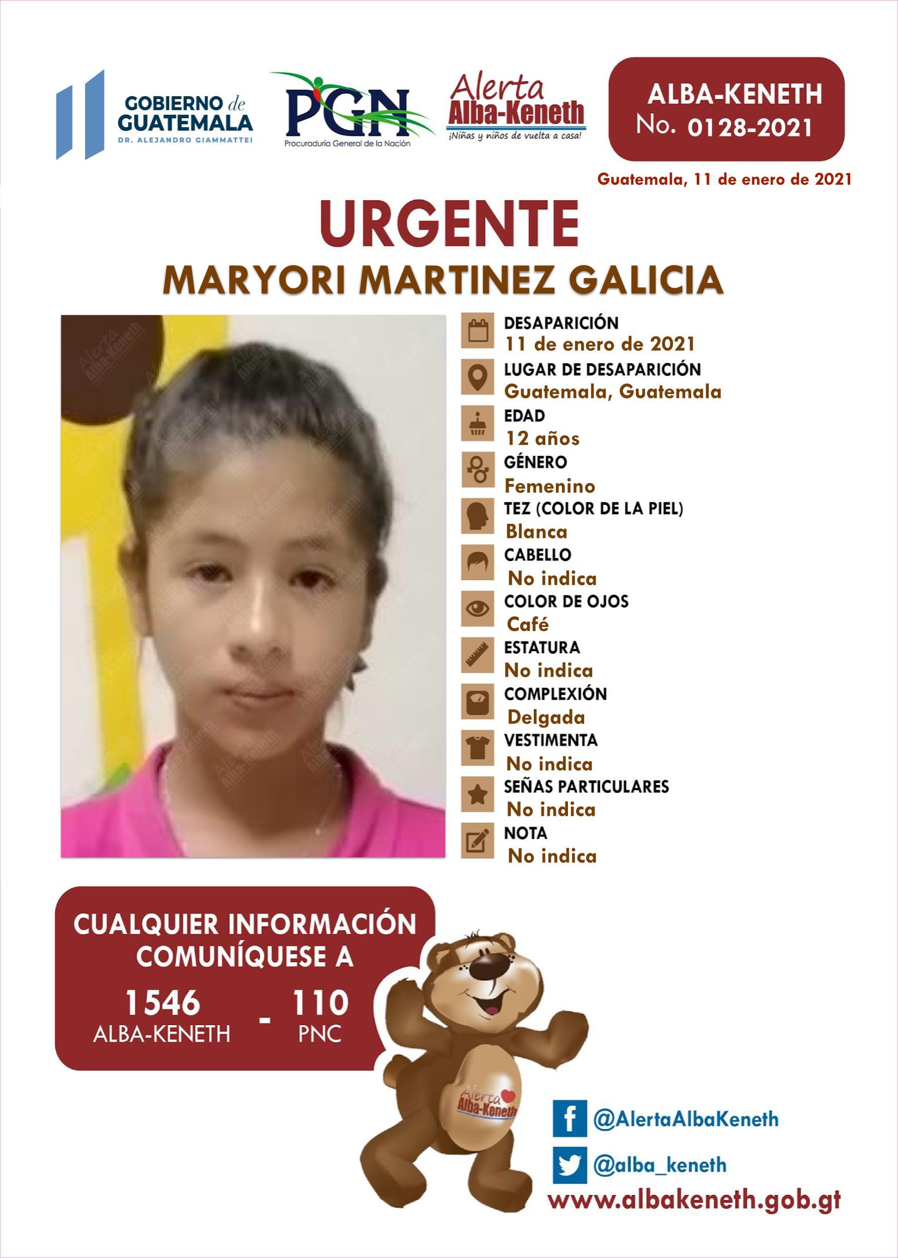 Maryori Martinez Galicia