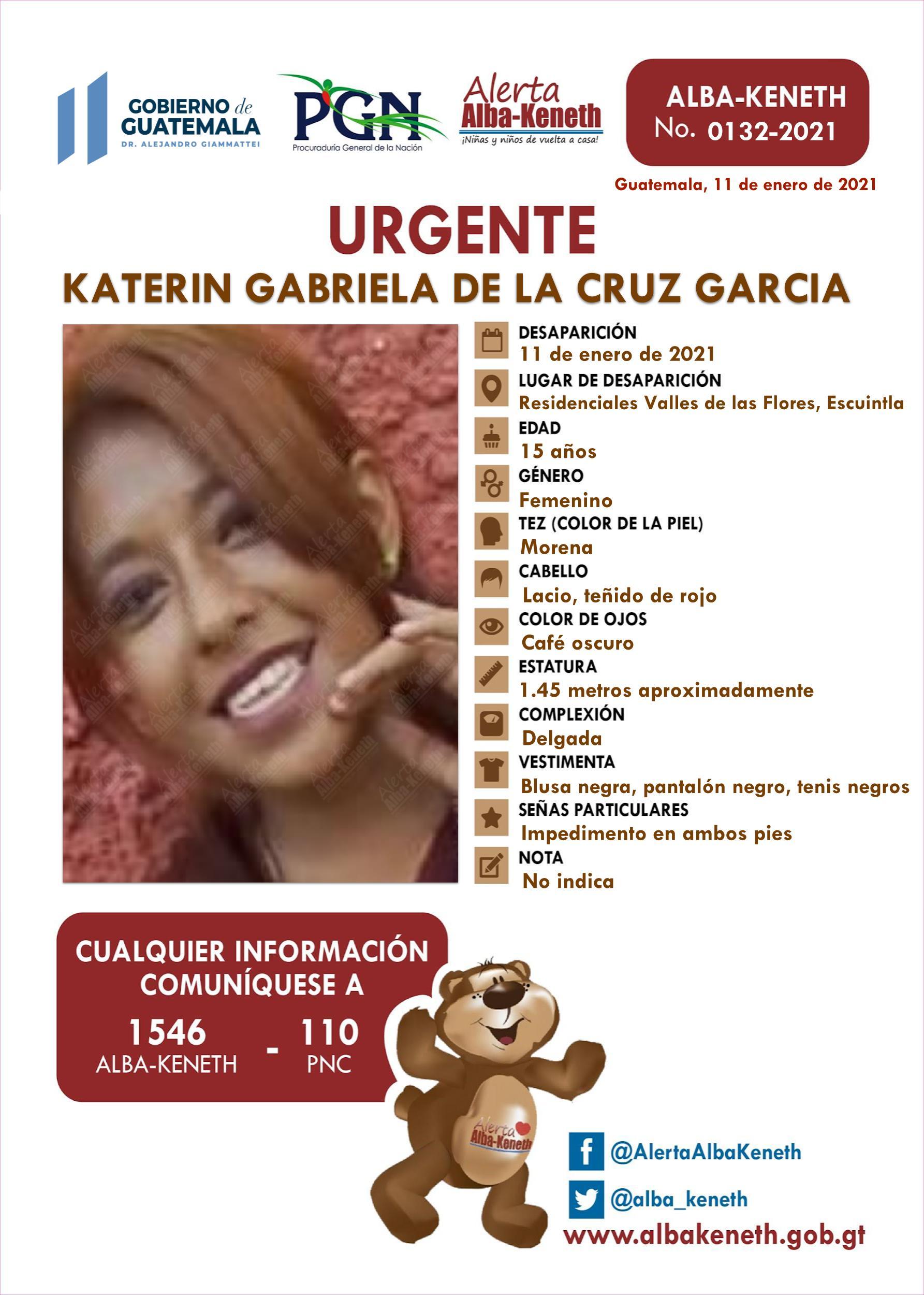 Katerin Gabriela de la Cruz Garcia