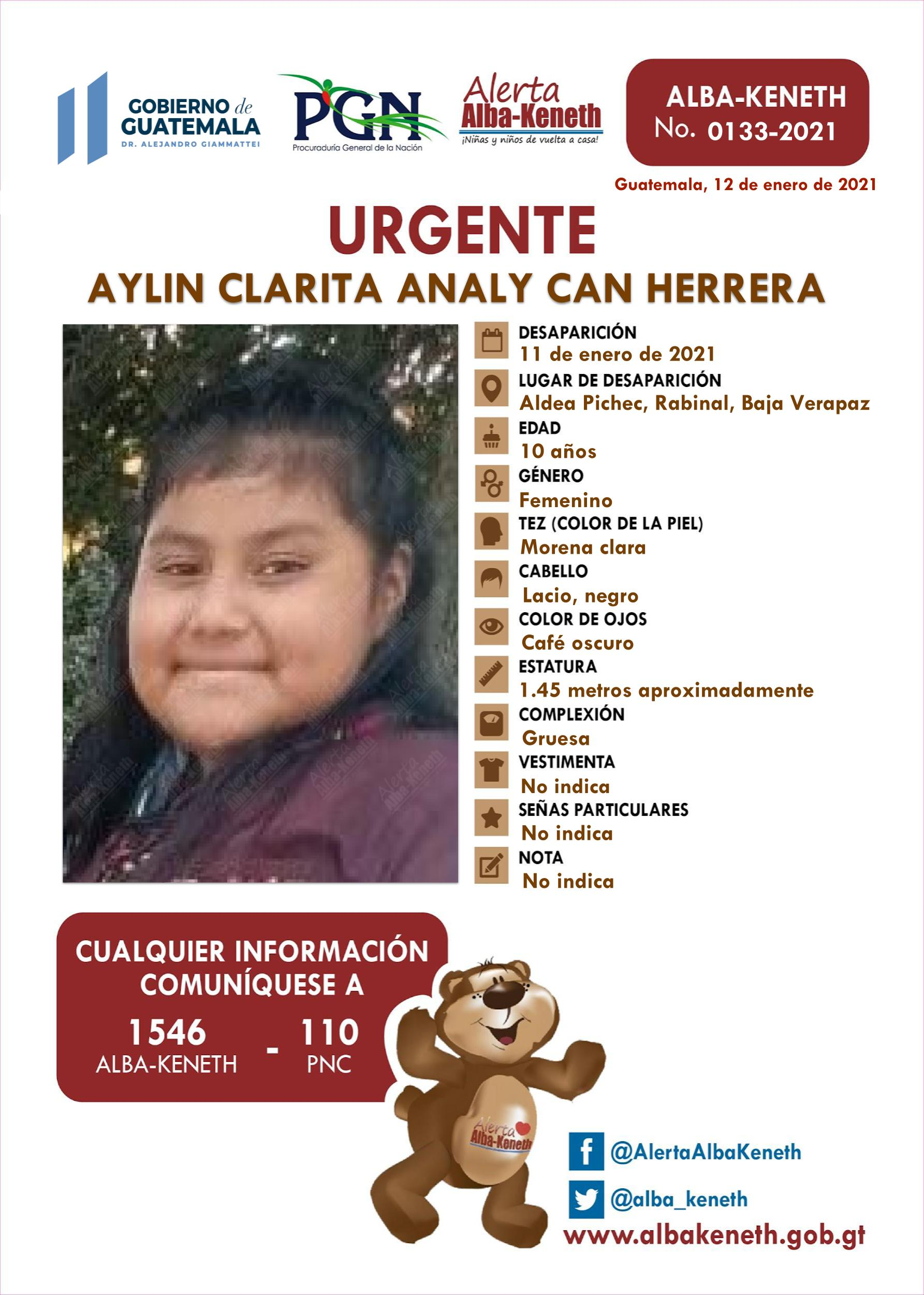 Aylin Clarita Analy Can Herrera