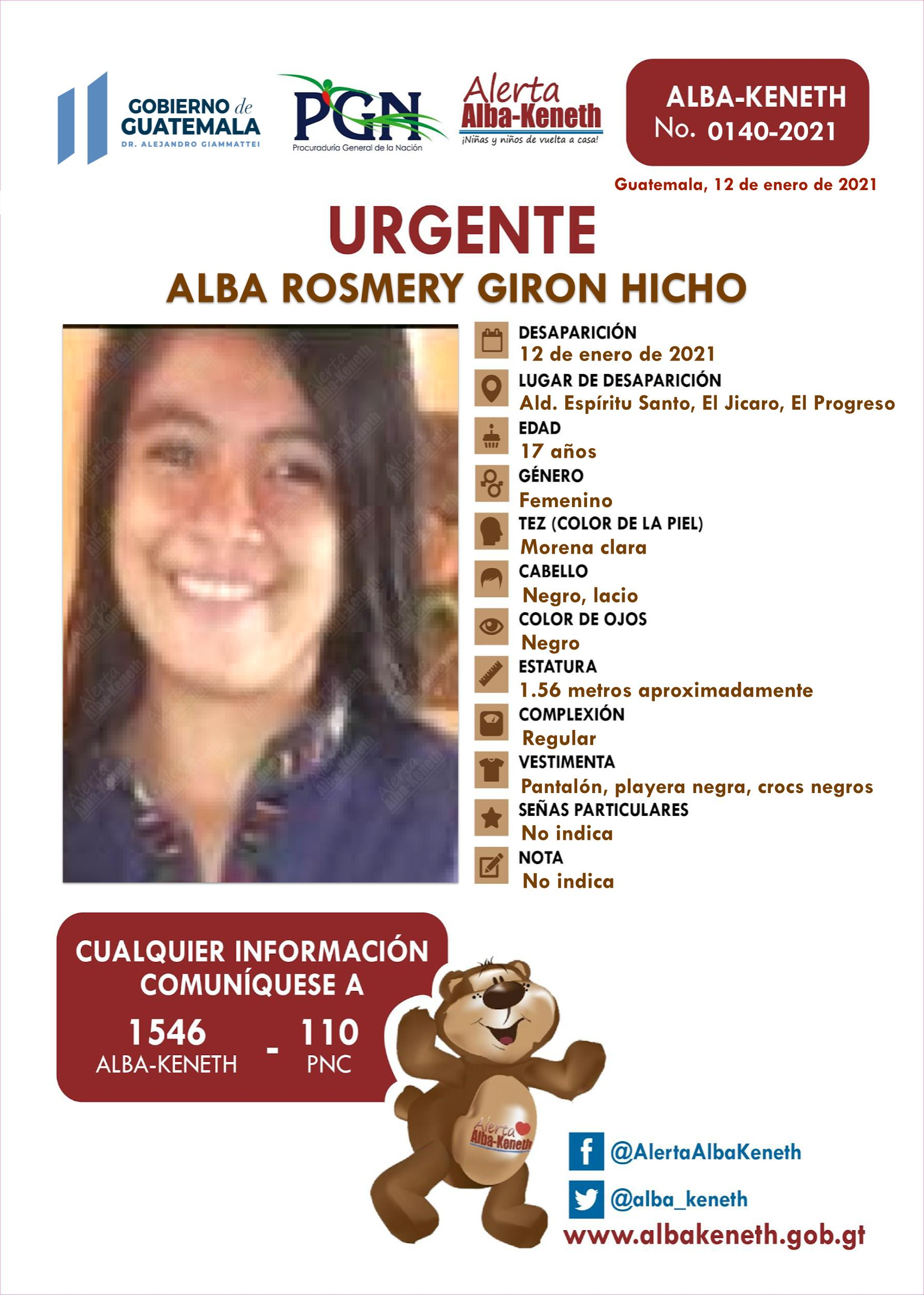 Alba Rosmery Giron Hicho