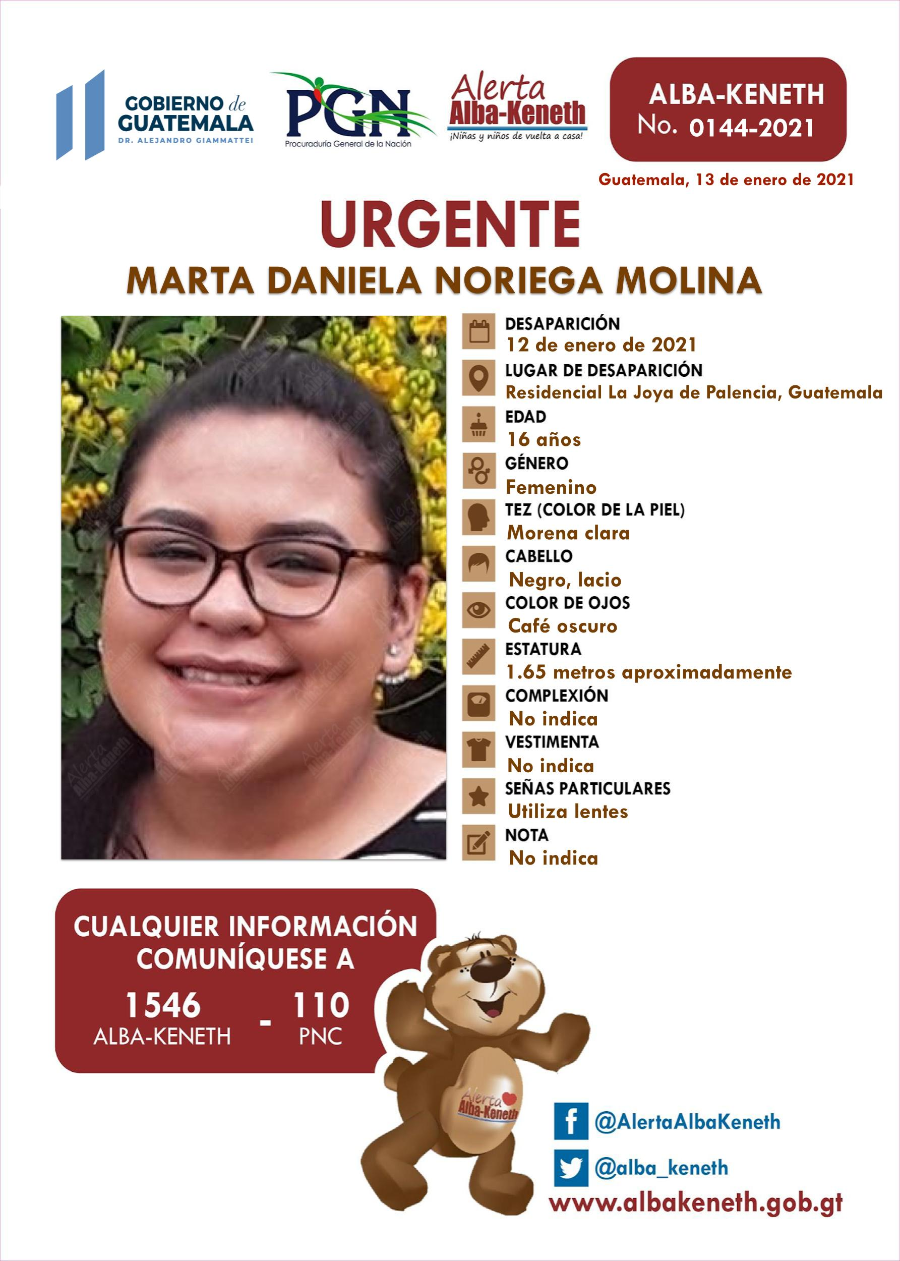 Marta Daniela Noriega Molina