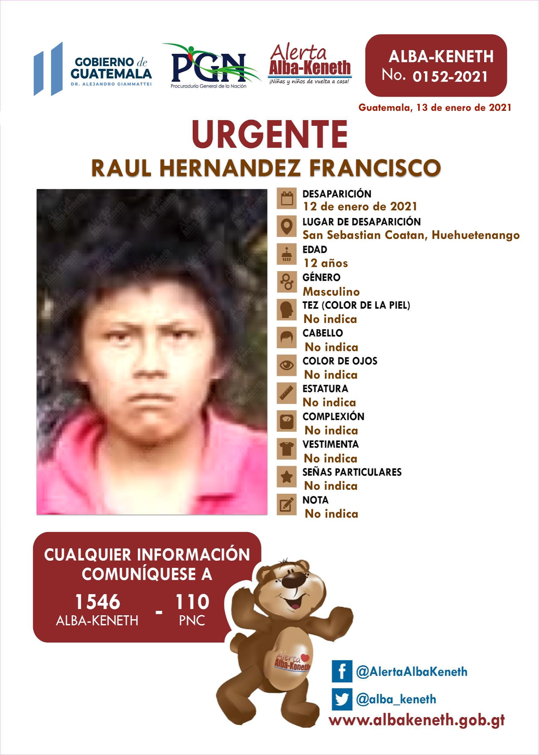 Raul Hernandez Francisco