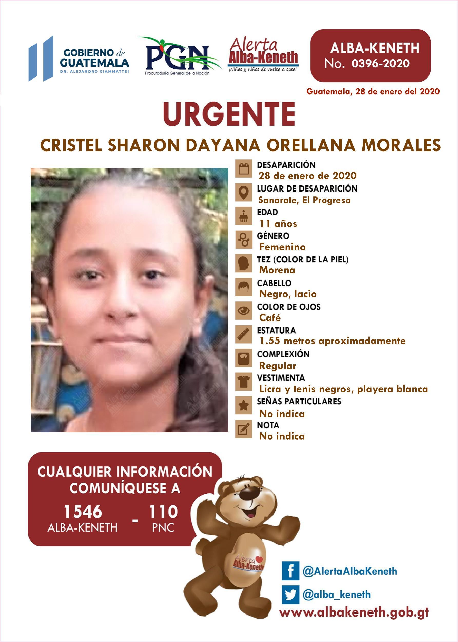 Cristel Sharon Dayana Orellana Morales