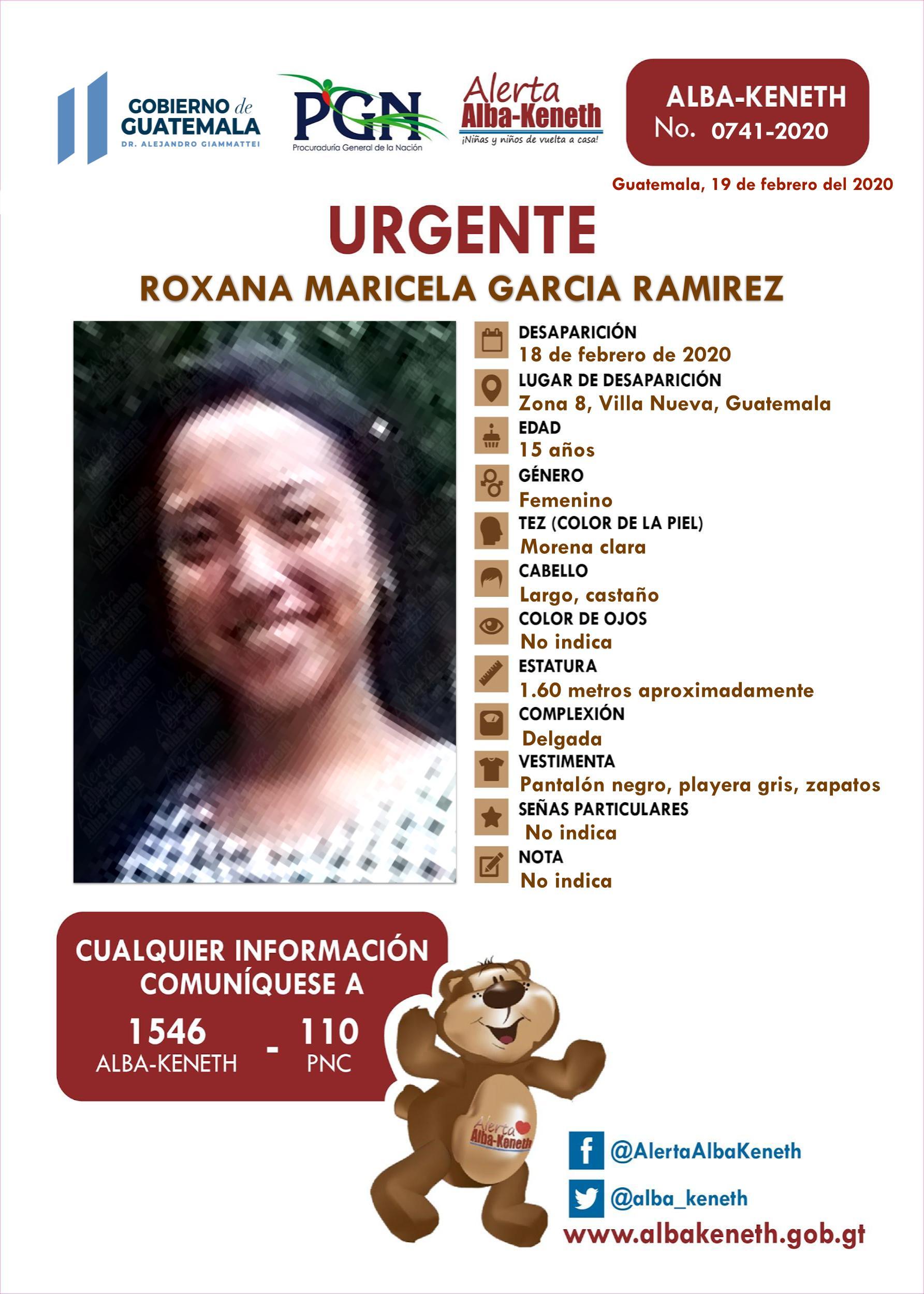 Roxana Maricela Garcia Ramirez
