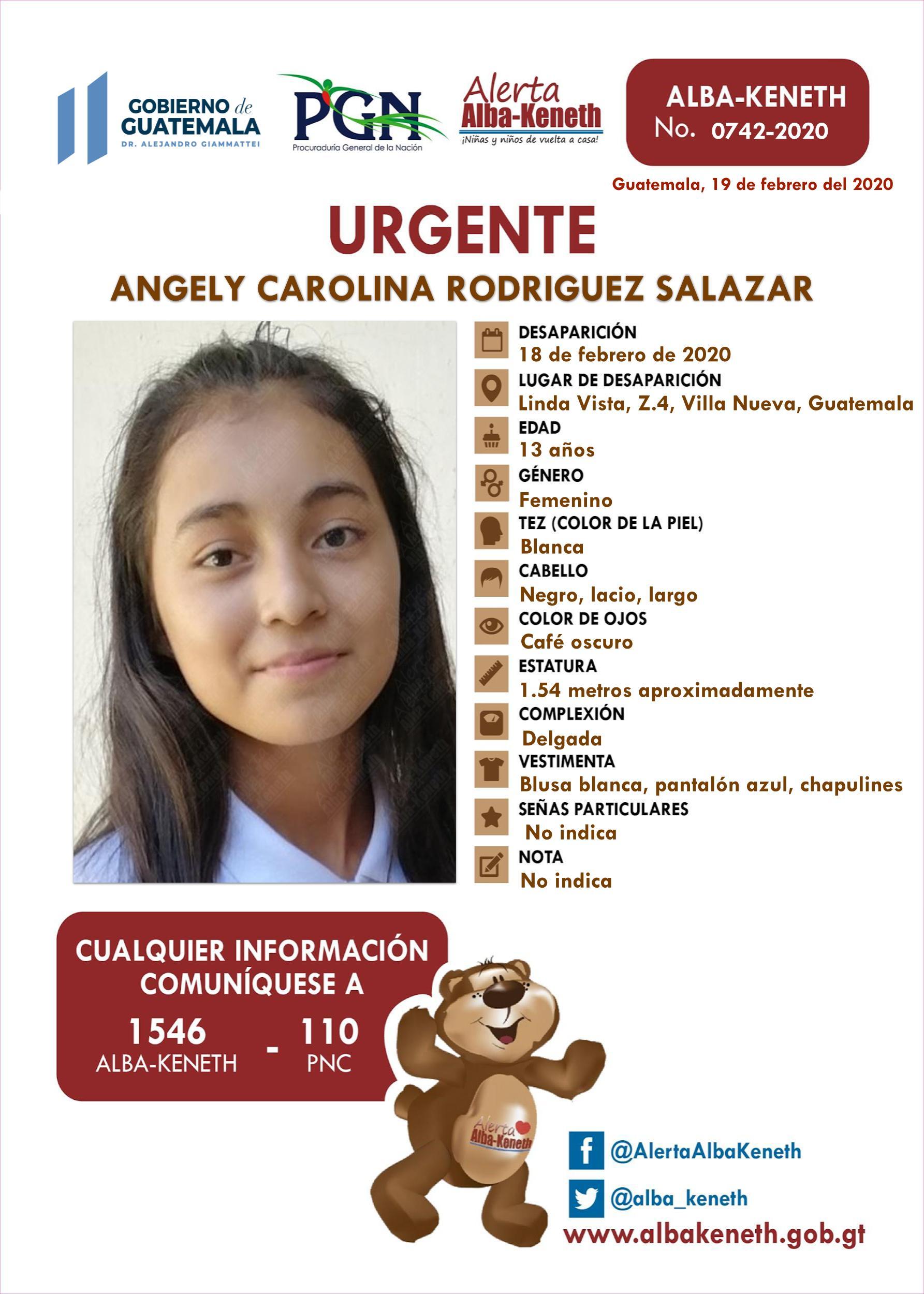Angely Carolina Rodriguez Salazar