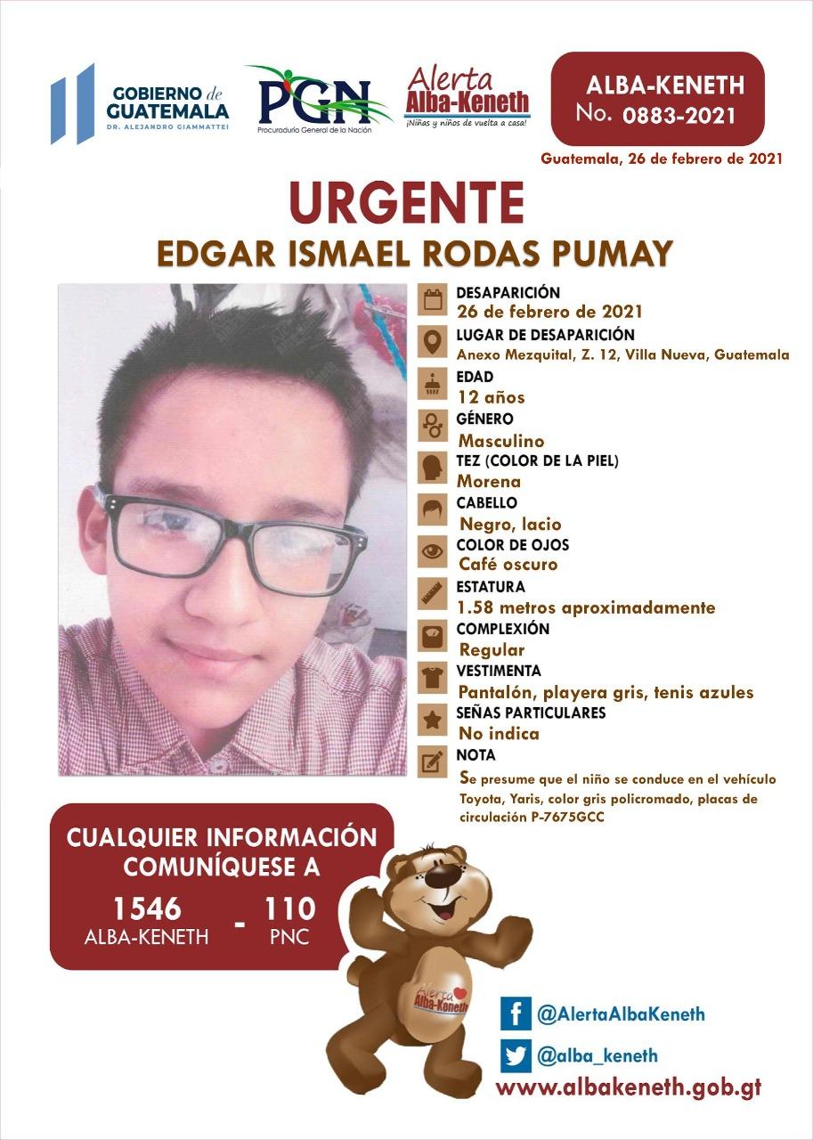 Edgar Ismael Rodas Pumay