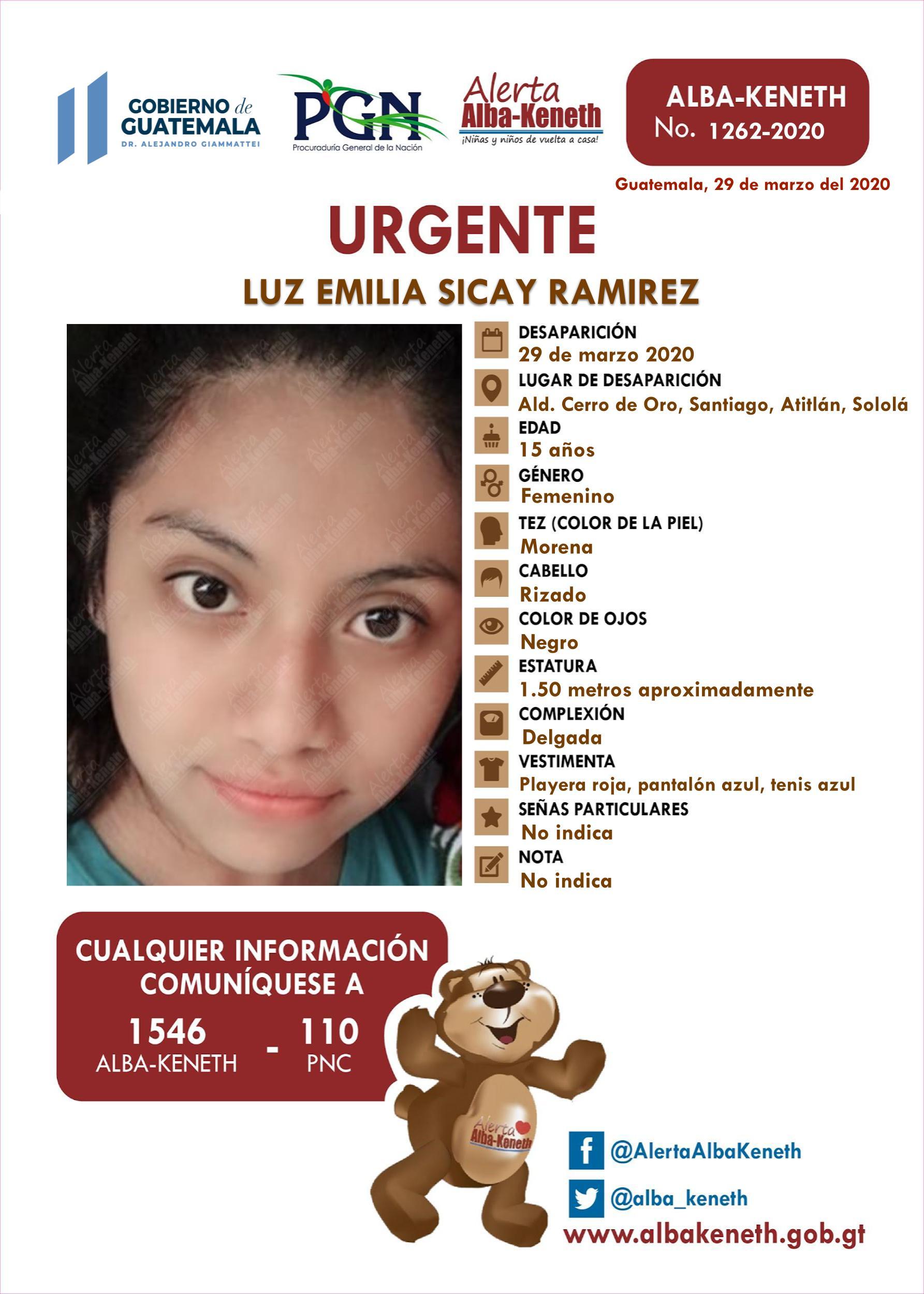 Luz Emilia Sicay Ramirez