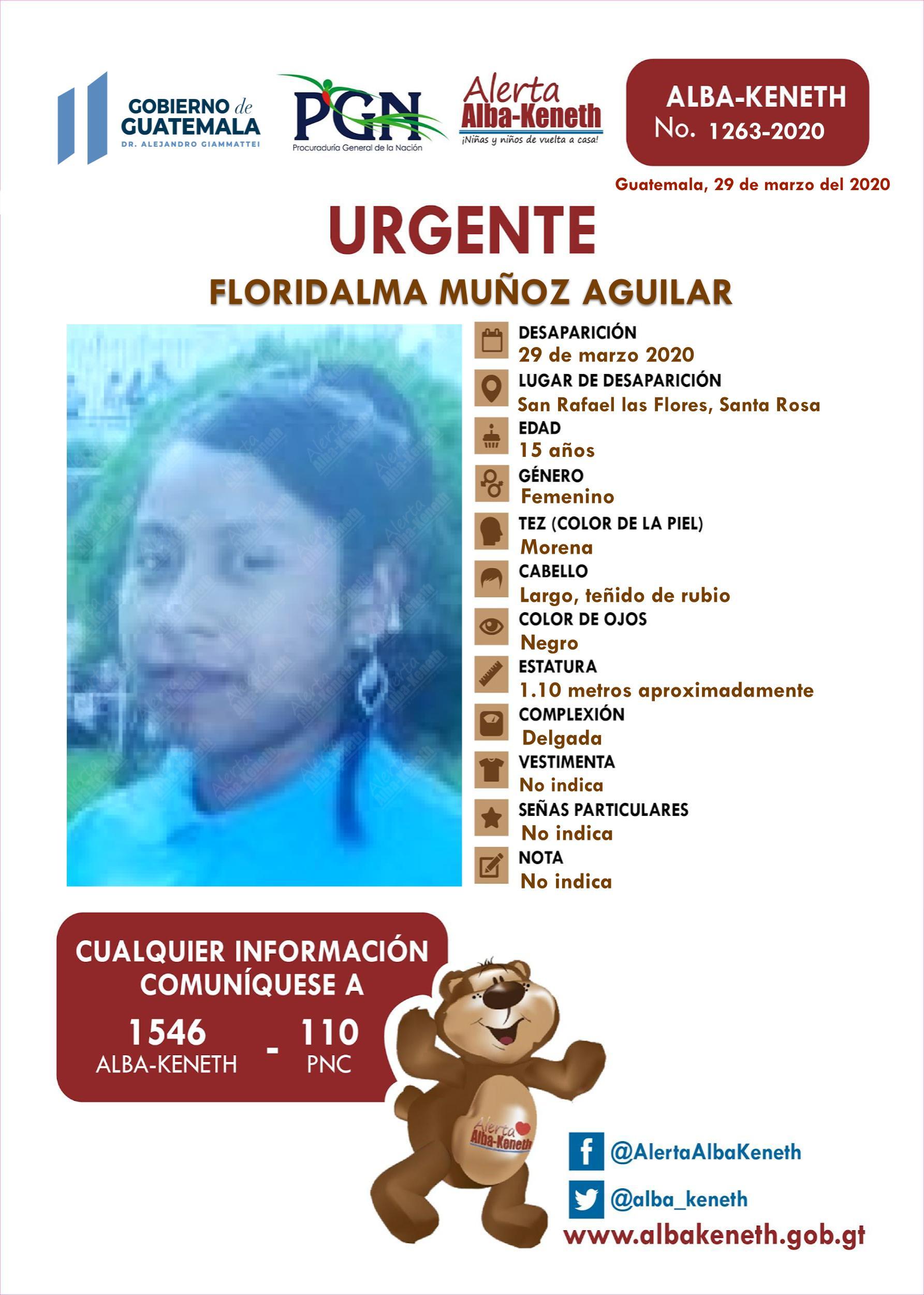 Floridalma Muñoz Aguilar