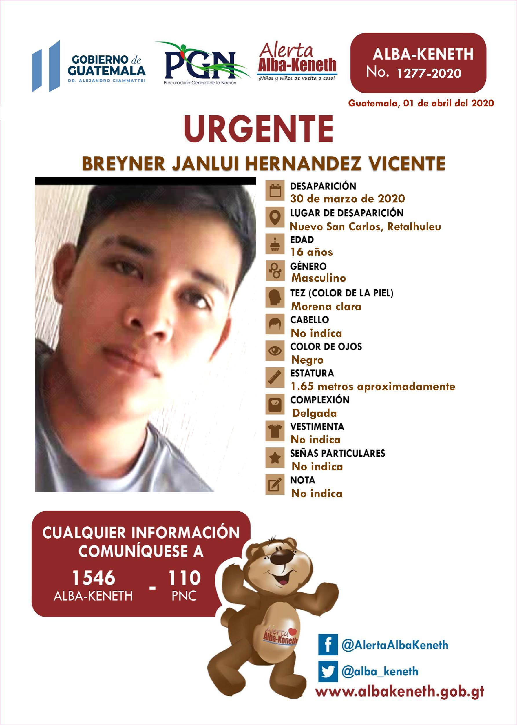 Breyner Janlui Hernandez Vicente