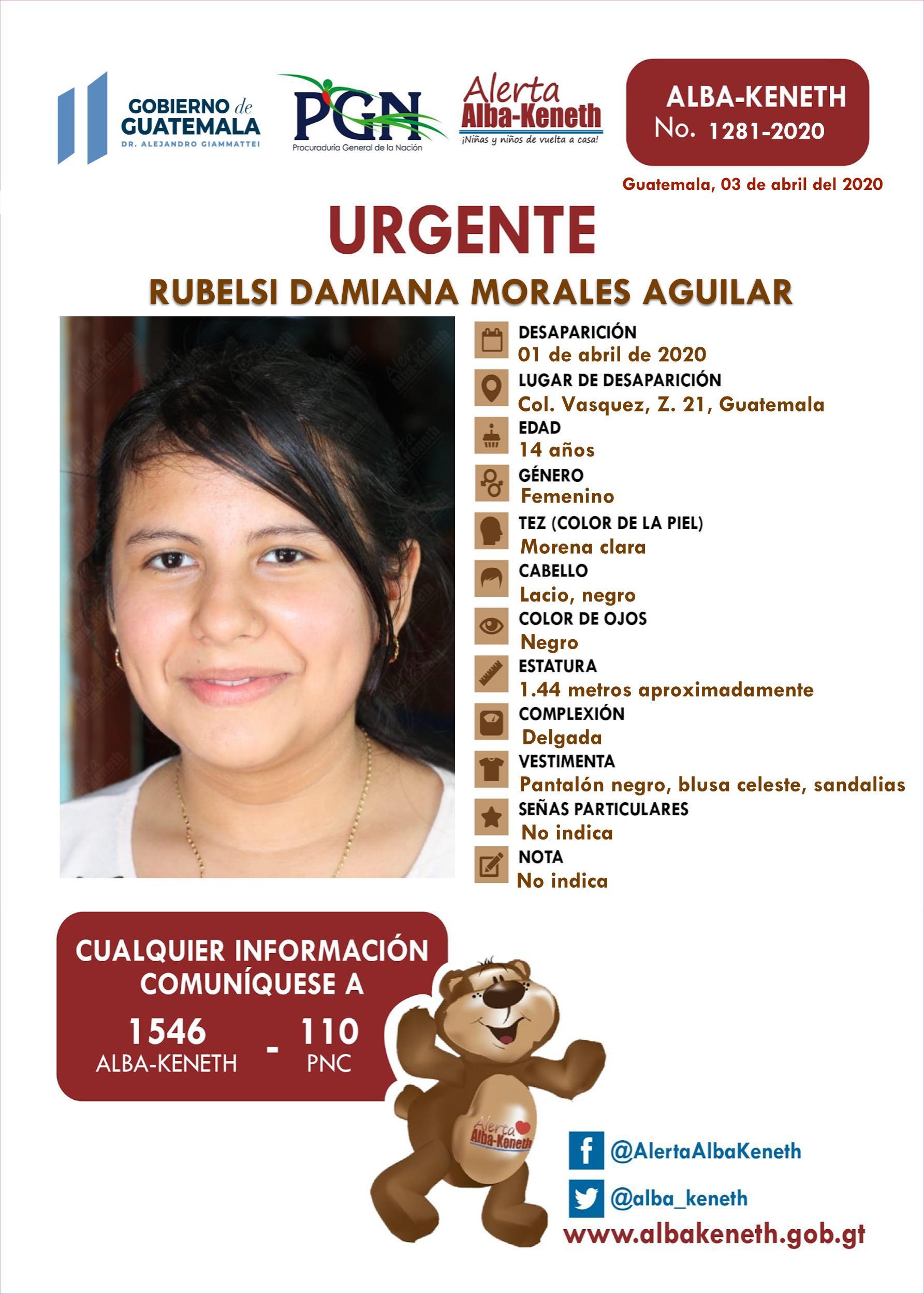 Rubelsi Damiana Morales Aguilar