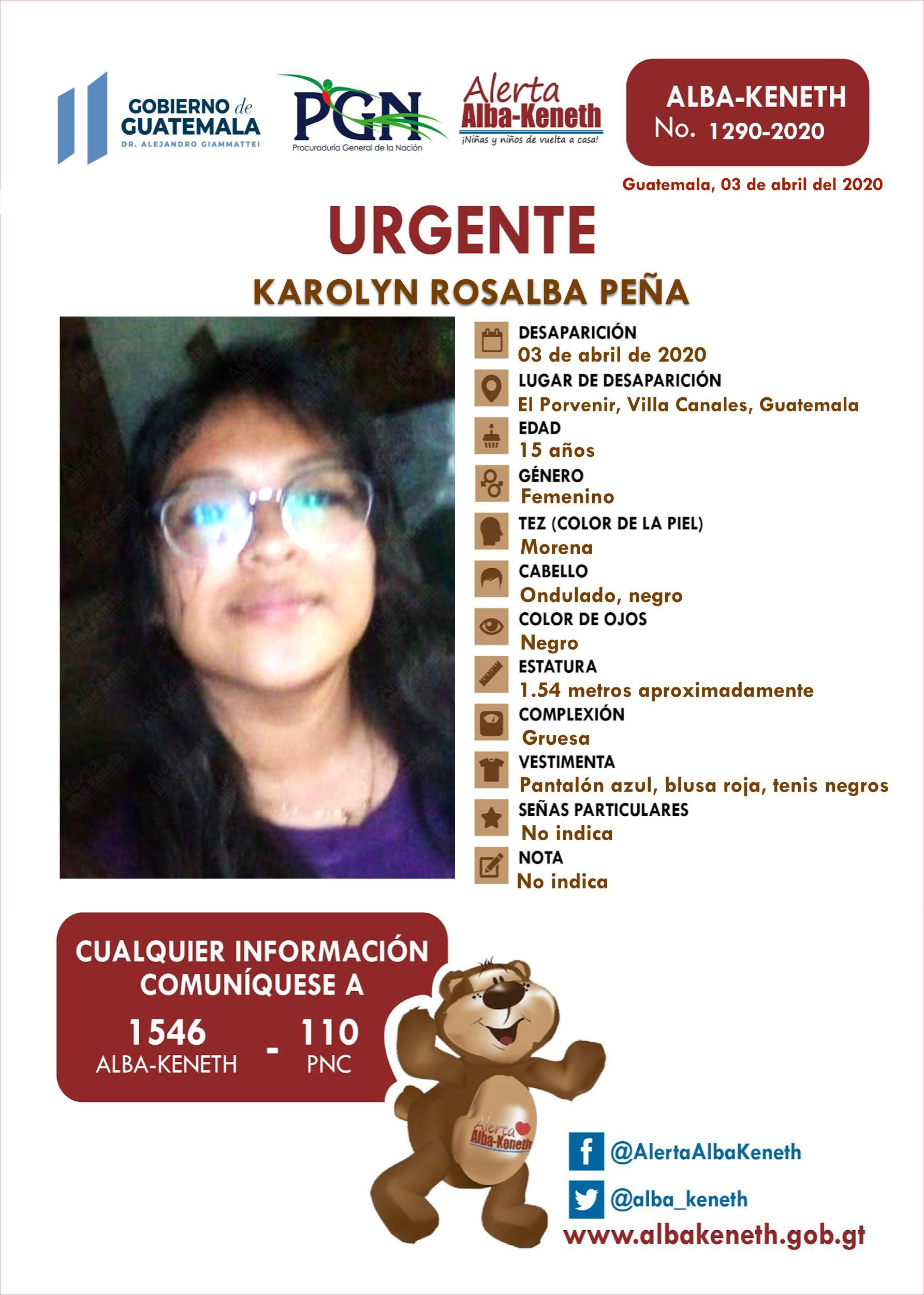 Karolyn Rosalba Peña