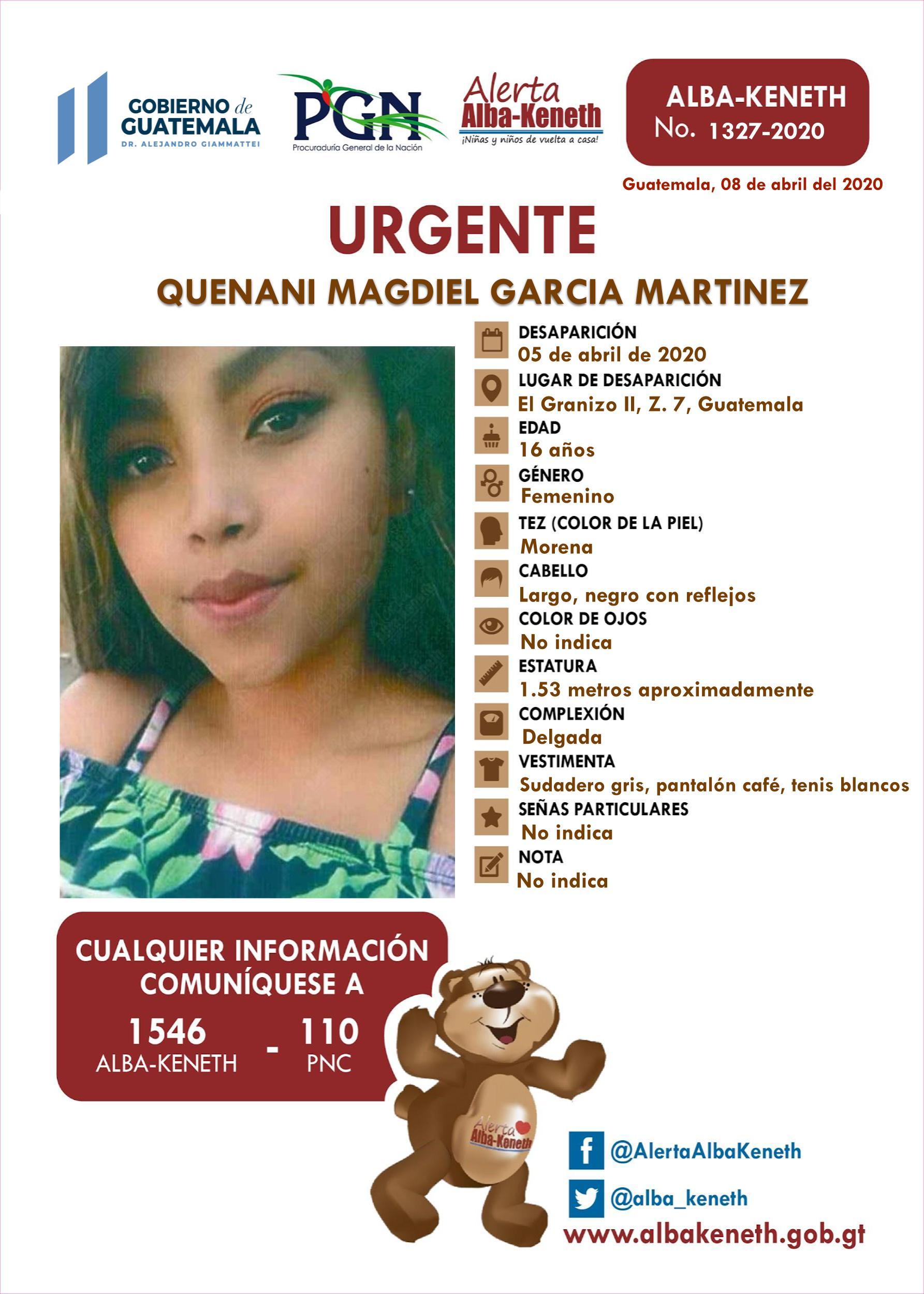 Quenani Magdiel Garcia Martinez
