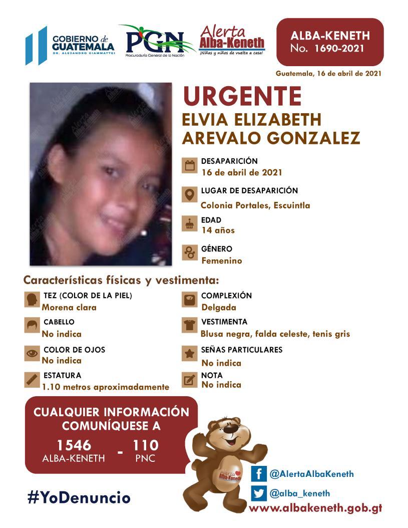 Elvia Elizabeth Arevalo Gonzalez