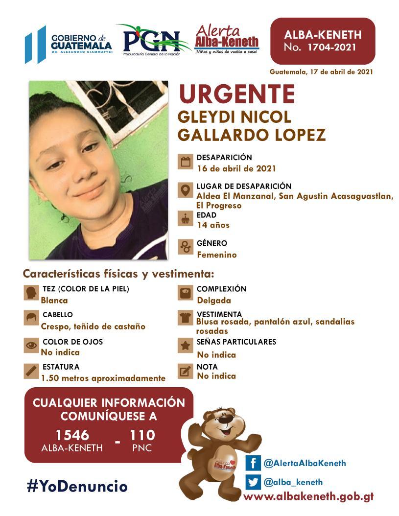 Gleydi Nicol Gallardo Lopez