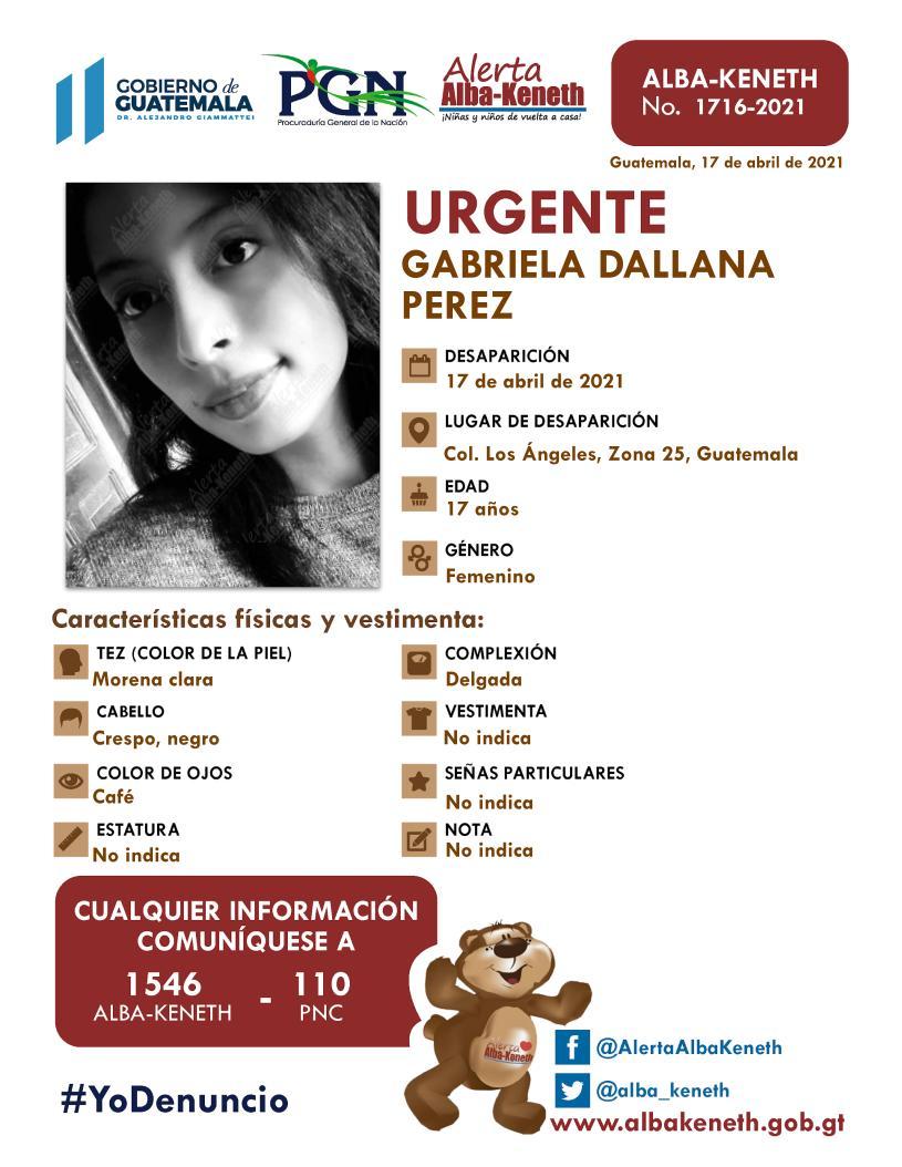 Gabriela Dallana Perez