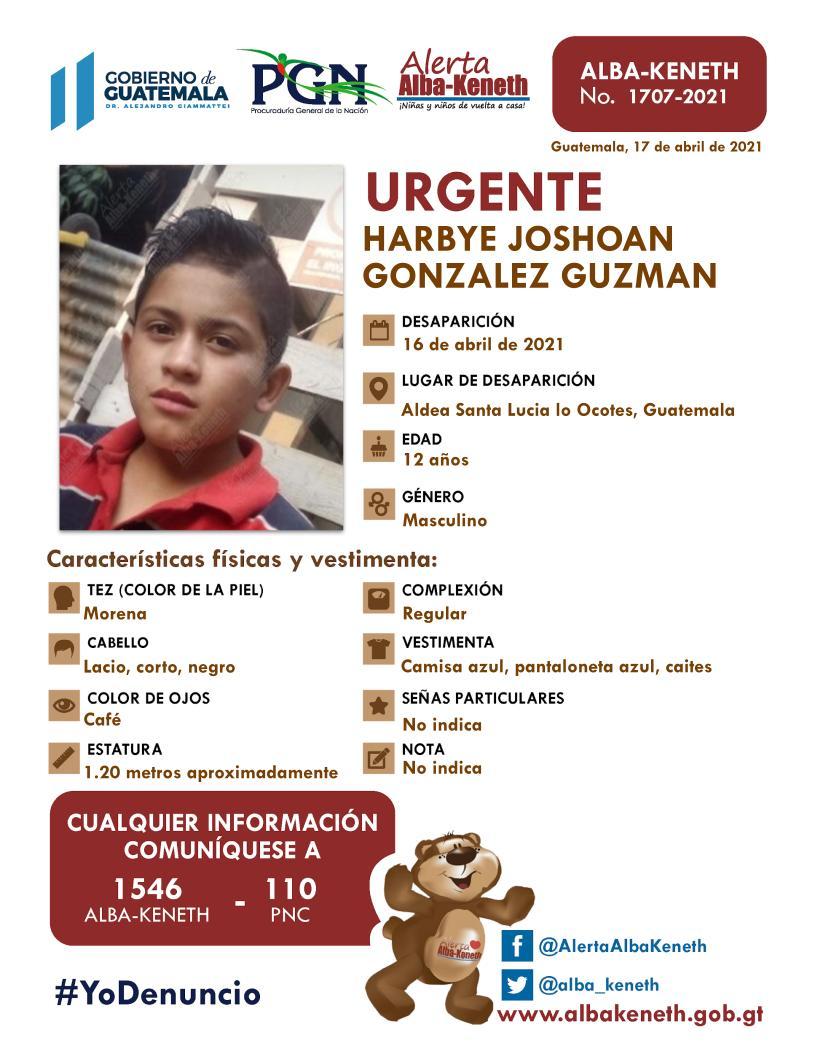 Harbye Joshoan Gonzalez Guzman