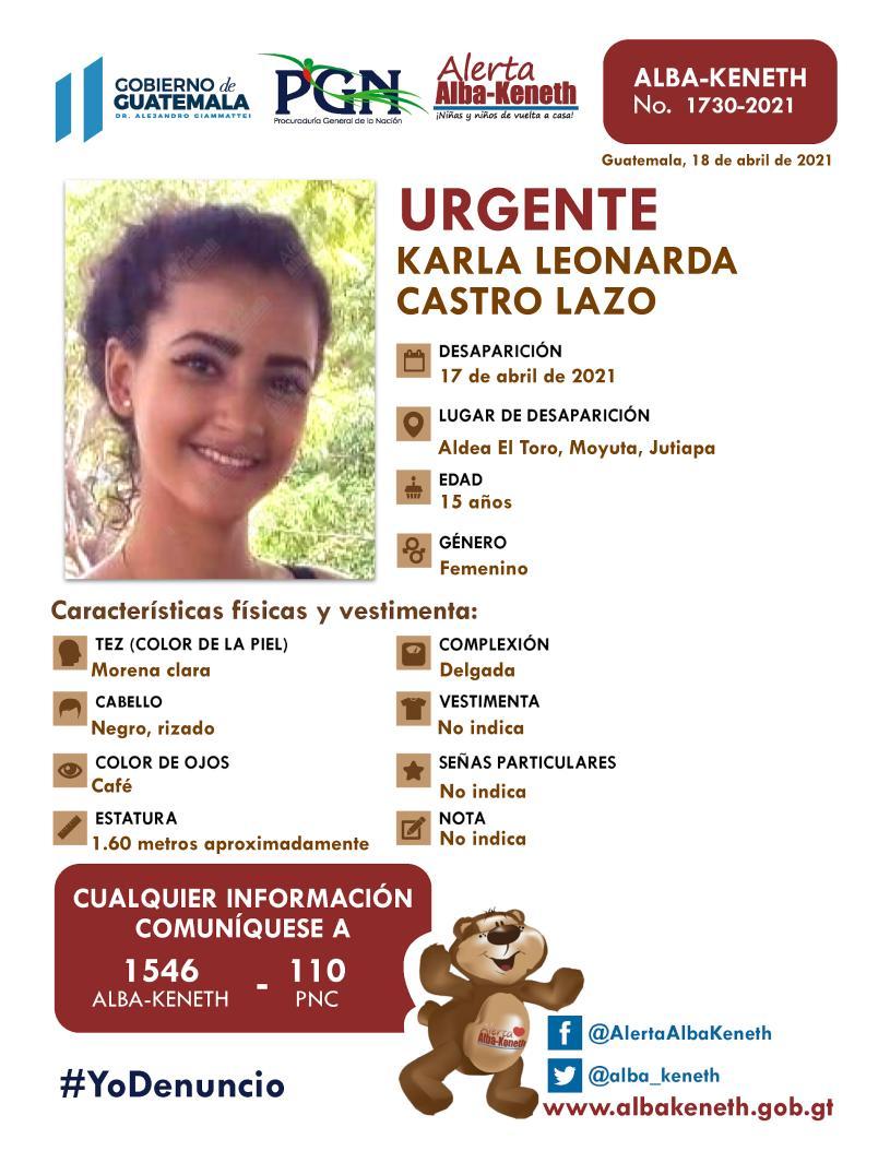 Karla Leonarda Castro Lazo