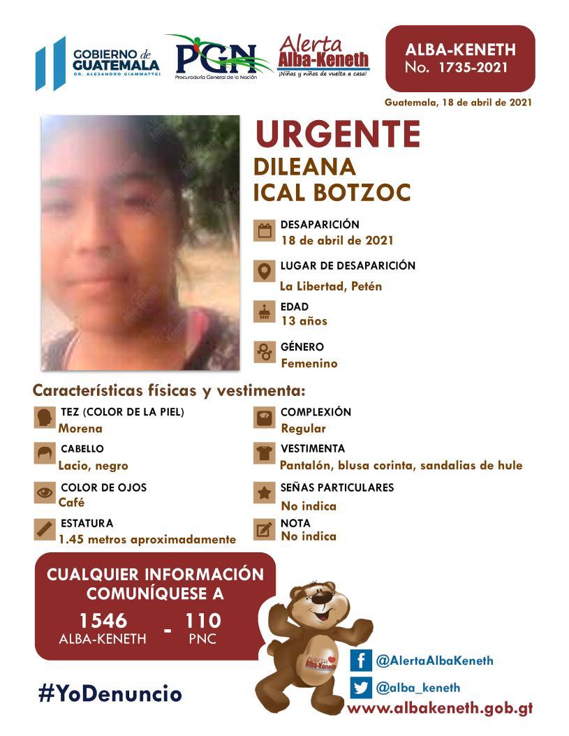 Dileana Ical Botzoc
