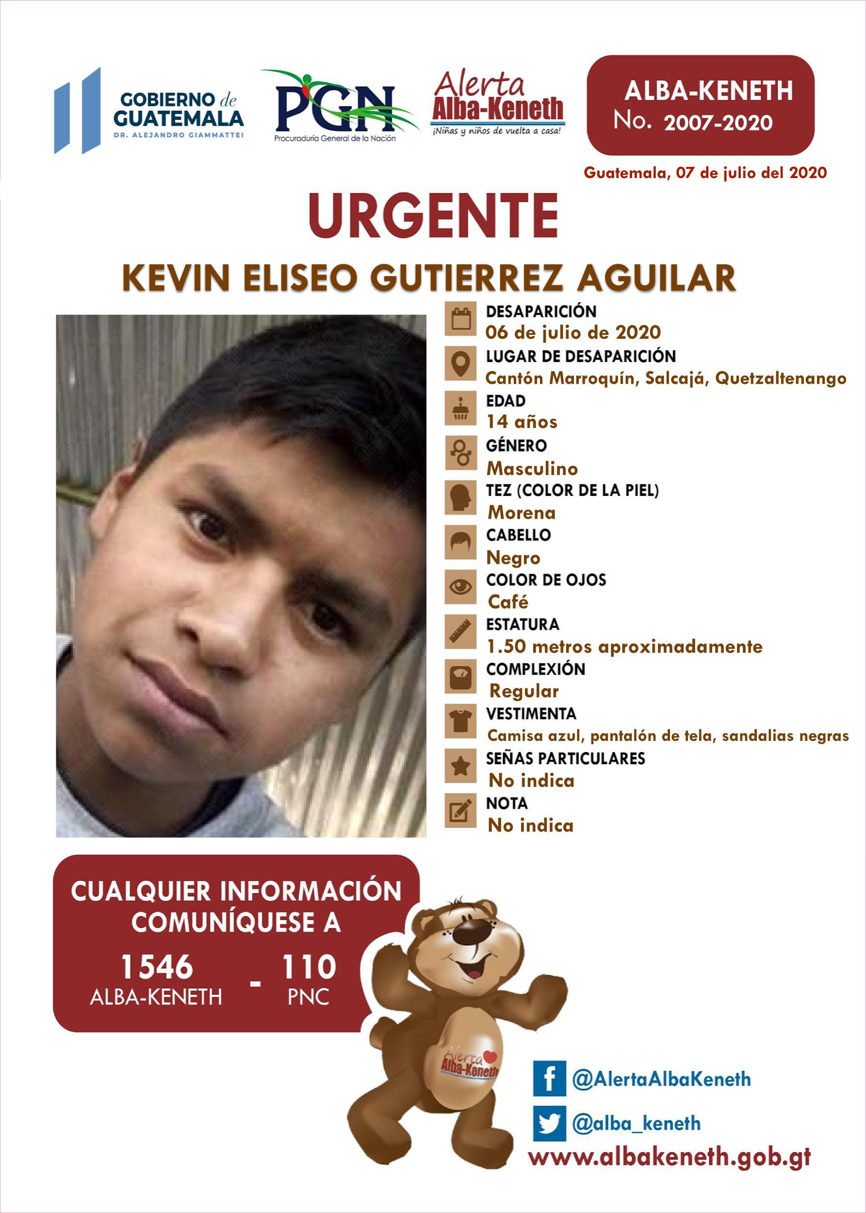 Kevin Eliseo Gutierrez Aguilar
