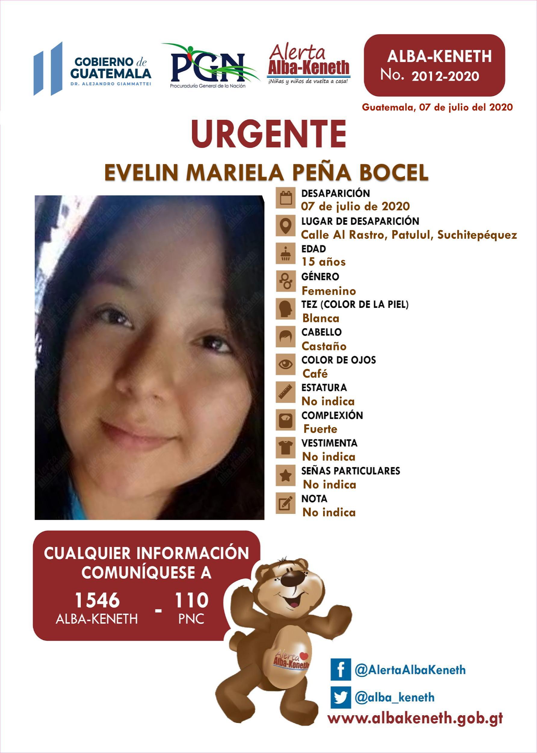 Evelyn Mariela Peña Bocel