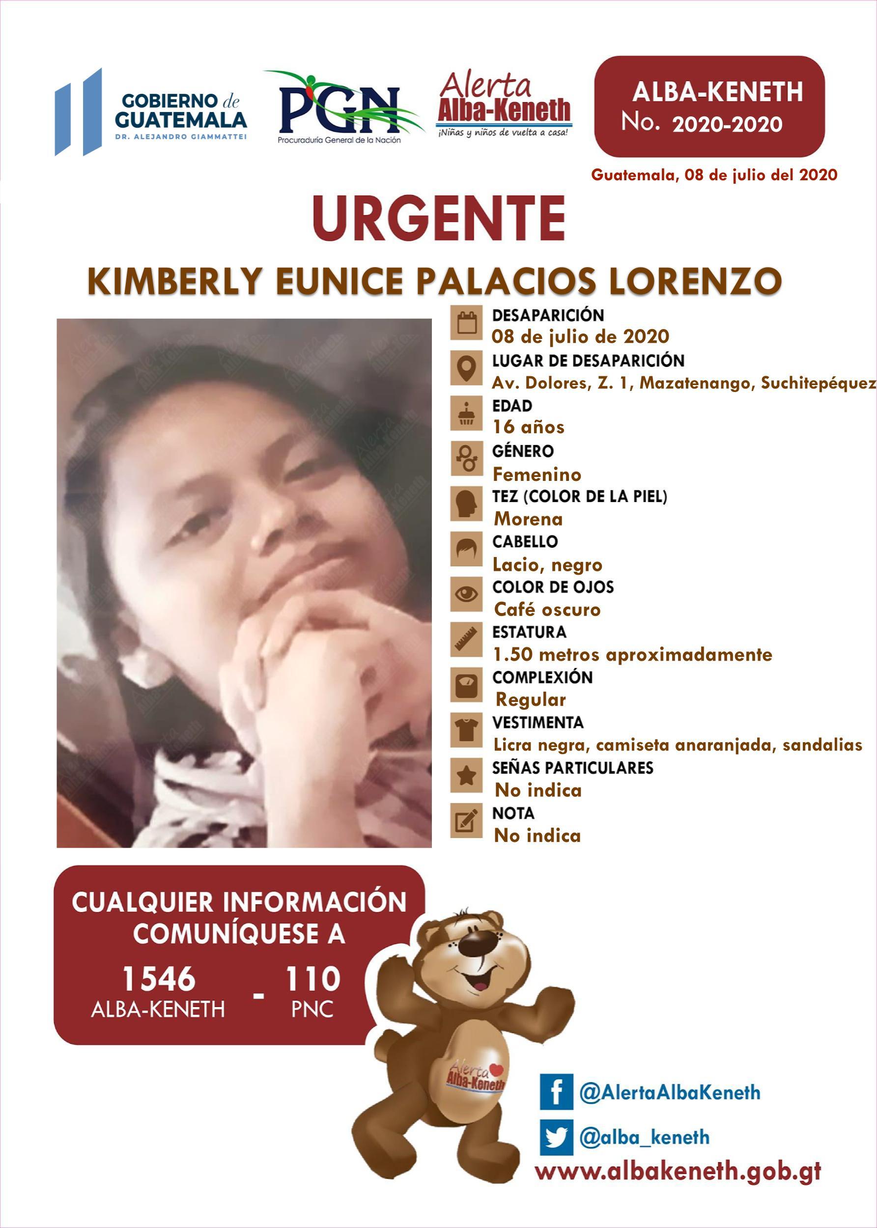 Kimberly Eunice Palacios Lorenzo