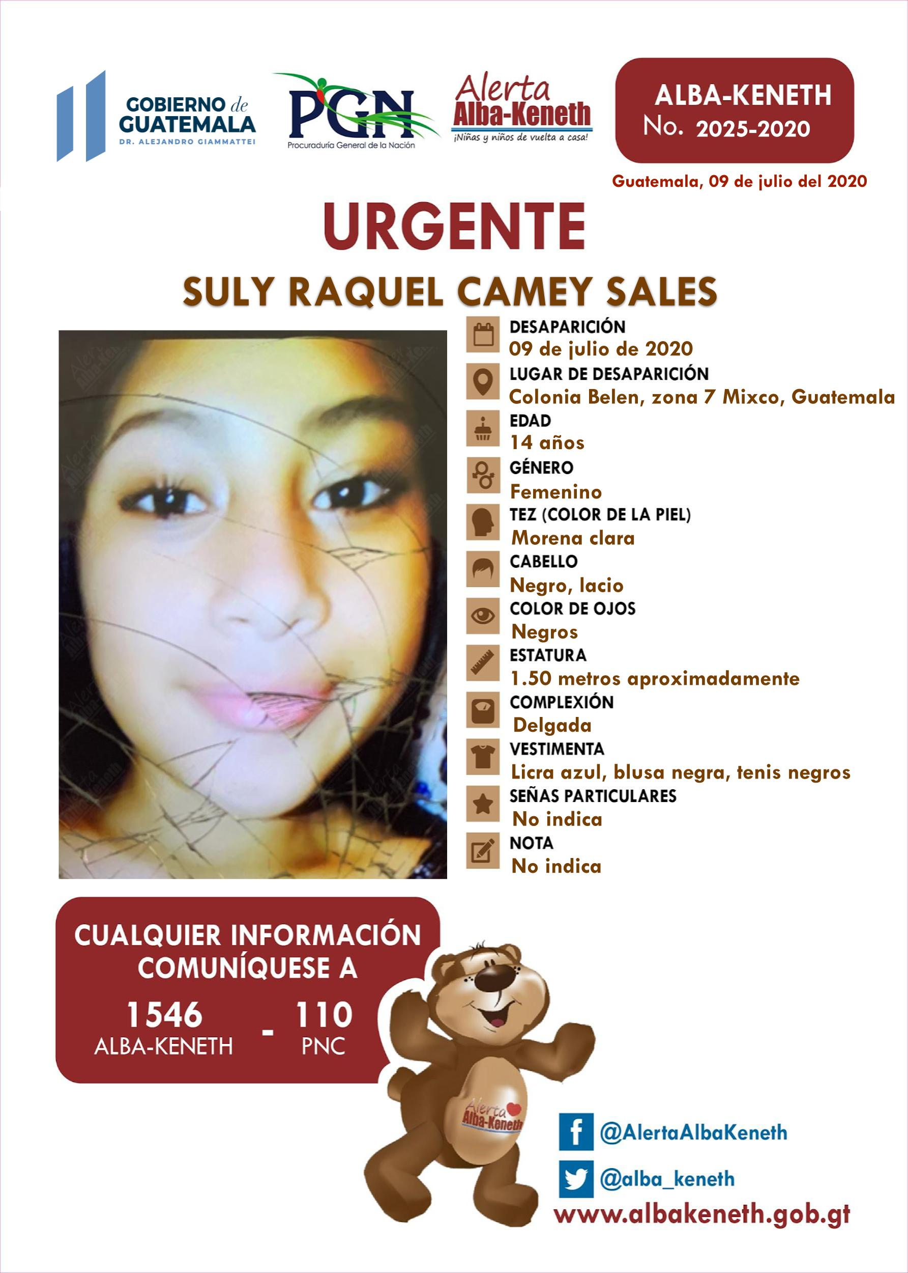 Suly Raquel Camey Sales