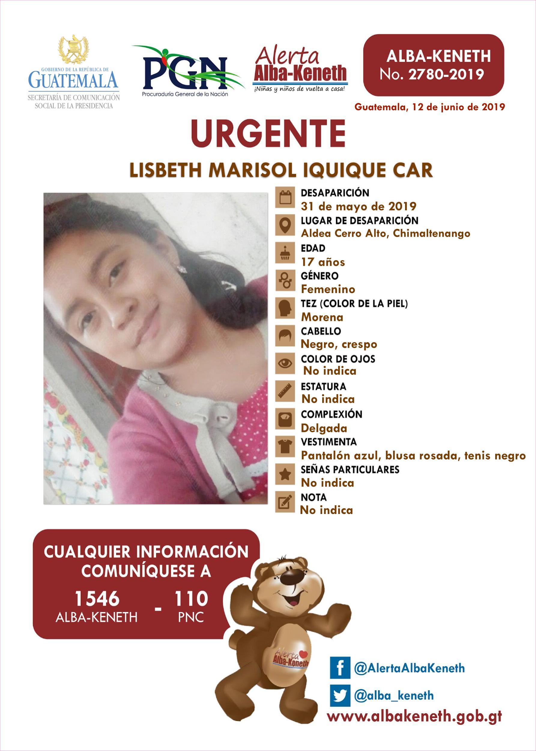 Lisbeth Marisol Iquique Car