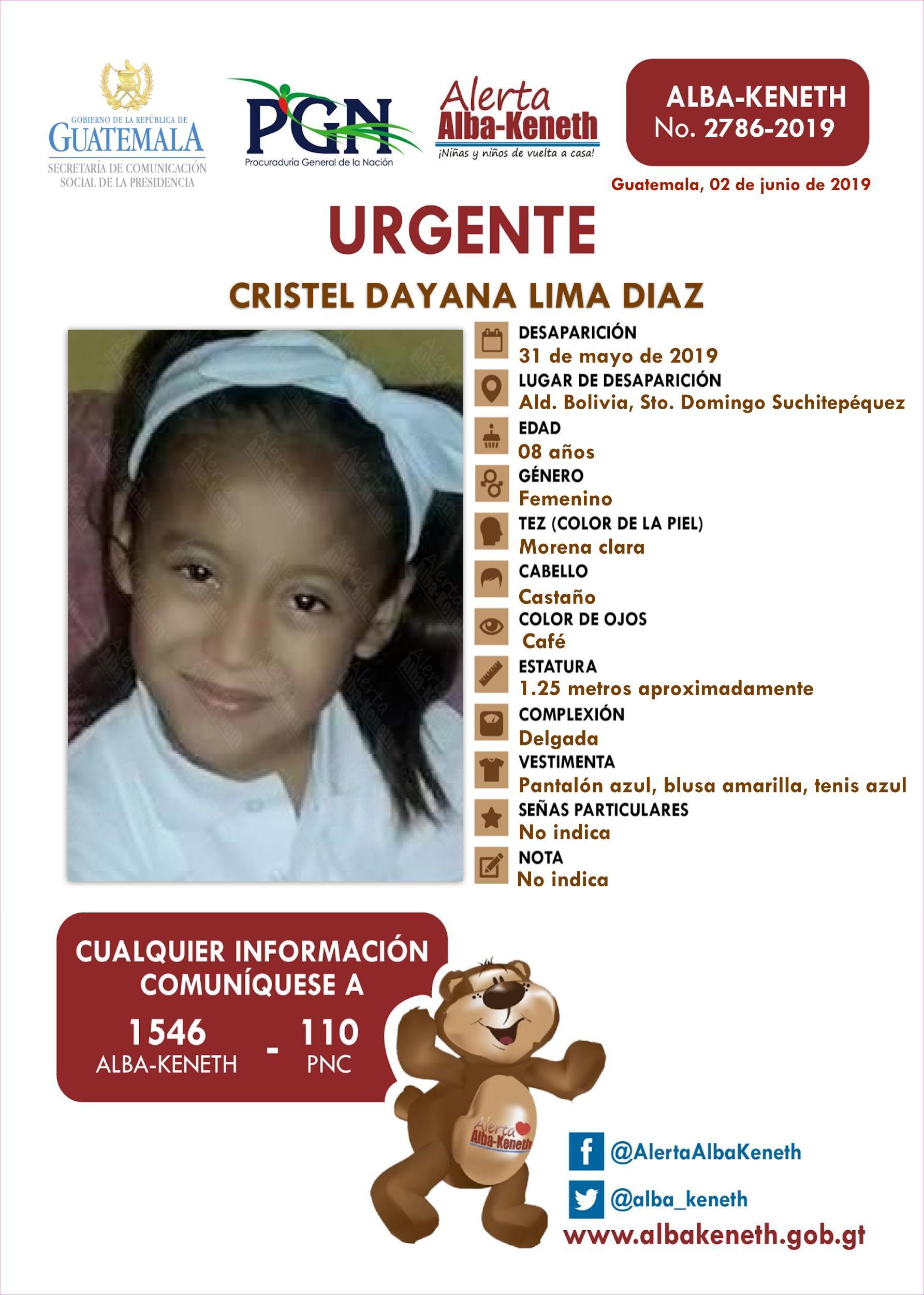 Cristel Dayana Lima Diaz