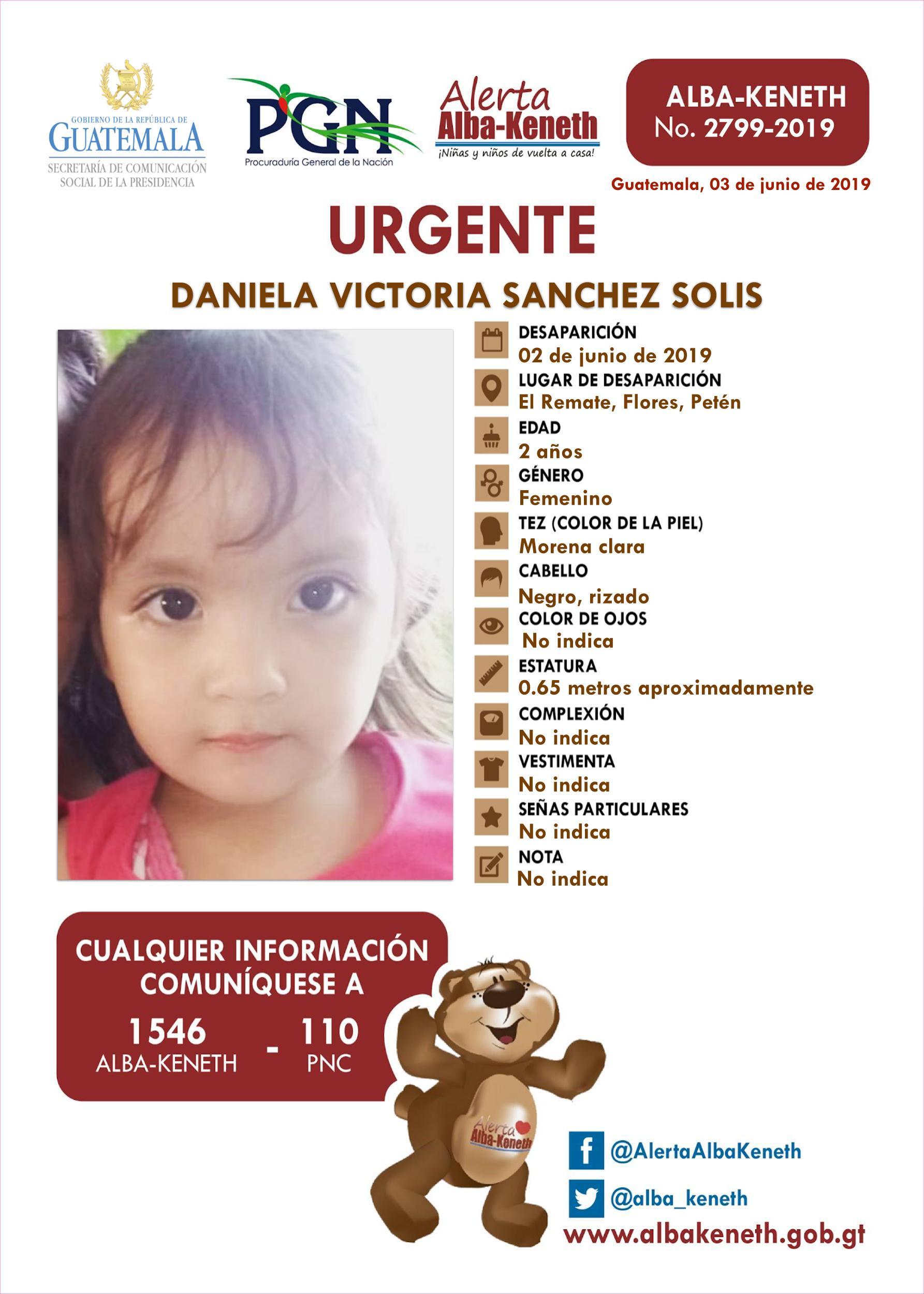 Daniela Victoria Sanchez Solis