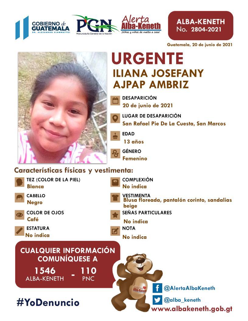 Iliana Josefany Ajpap Ambriz