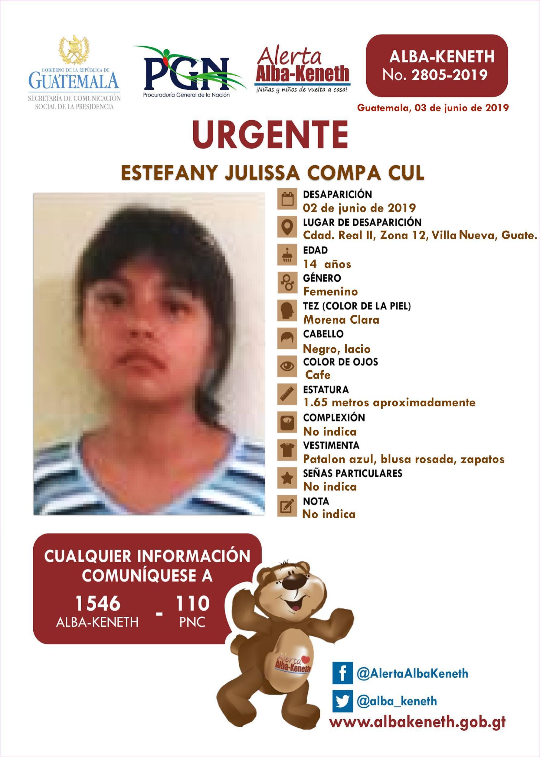 Estefany Julissa Compa Cul