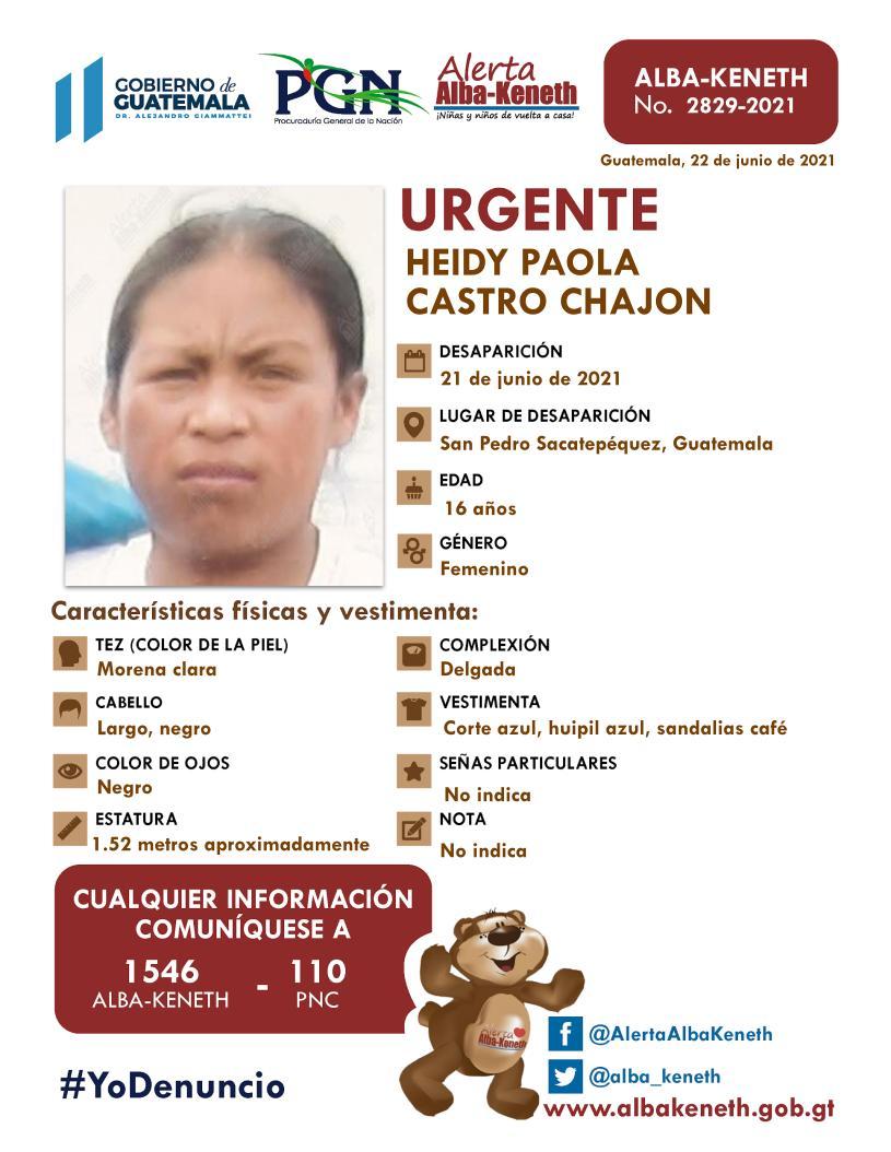 Heidy Paola Castro Chajon