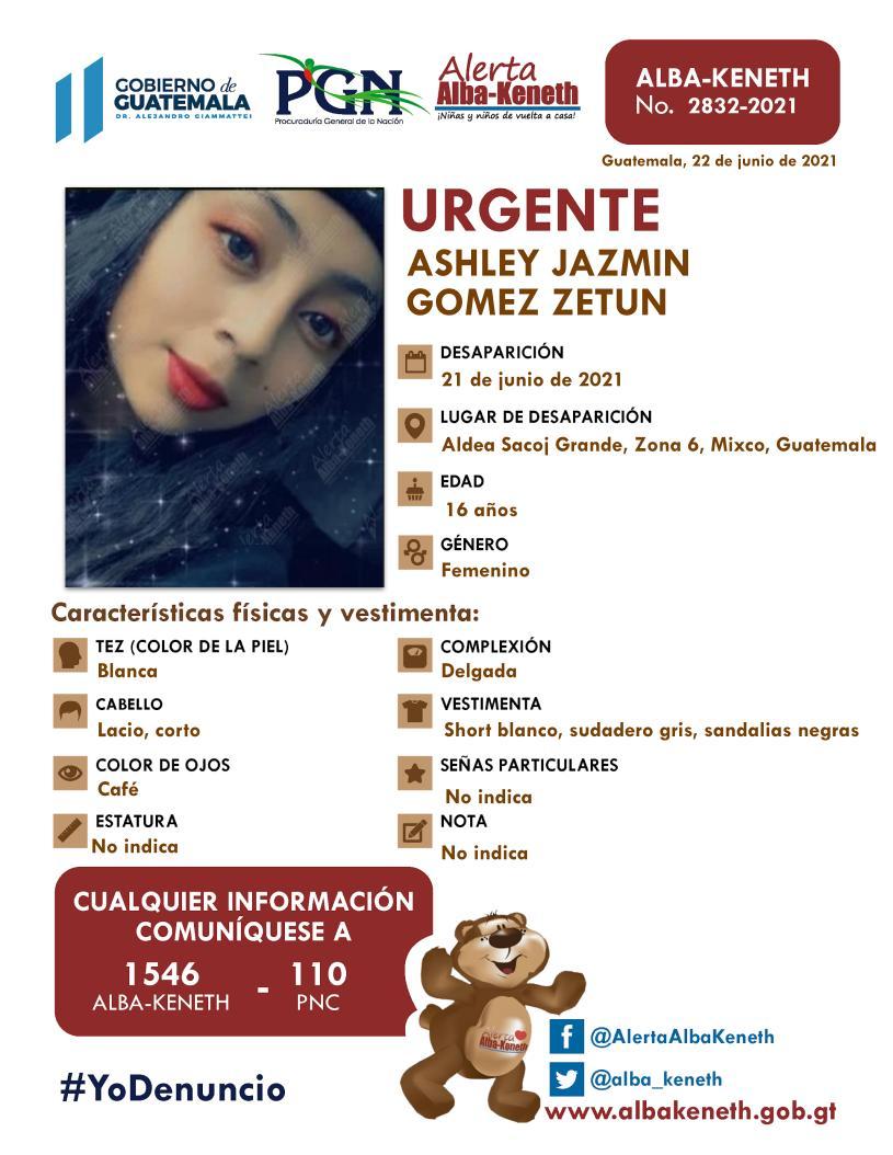 Ashley Jazmin Gomez Zetun