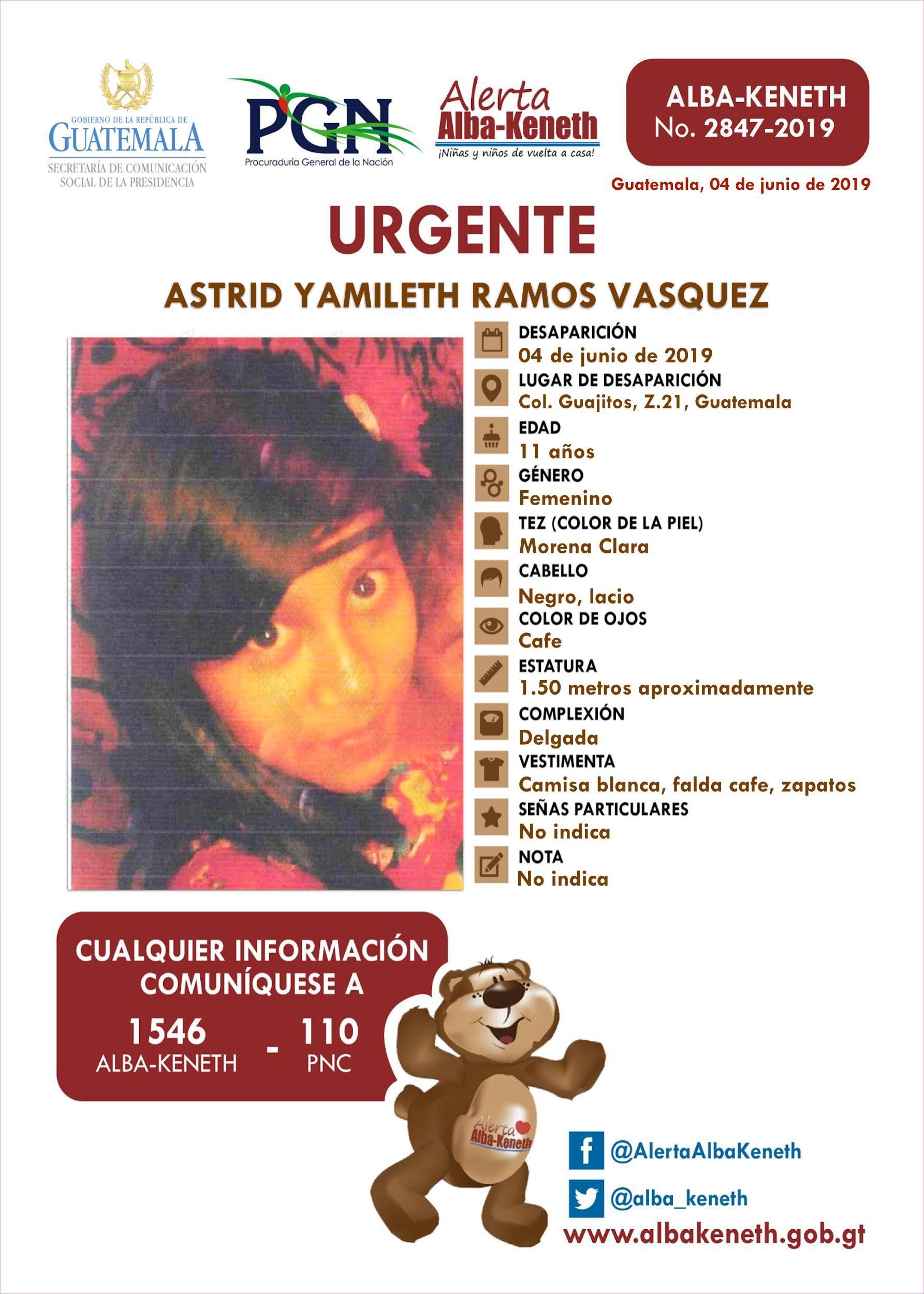 Astrid Yamileth Ramos Vasquez