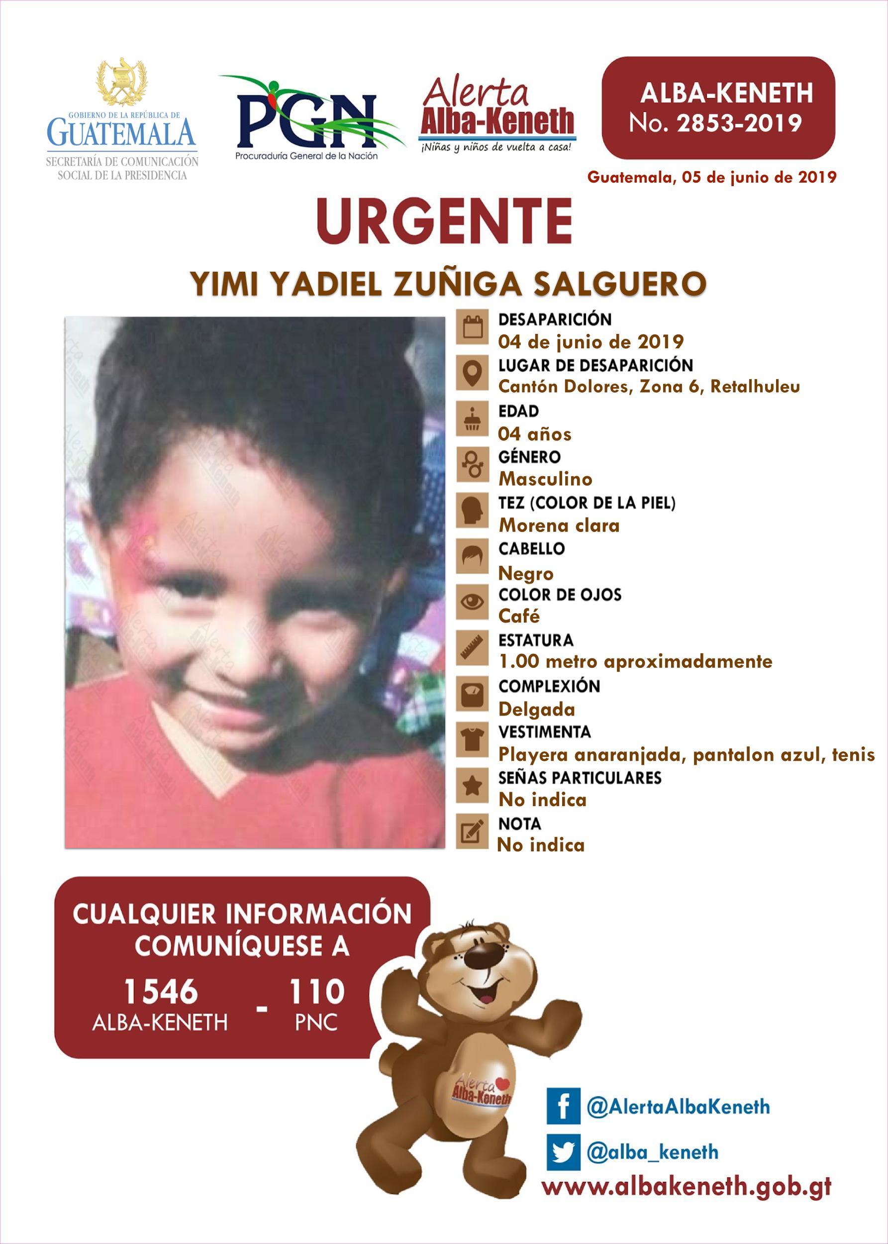 Yimi Yadiel Zuñiga Salguero