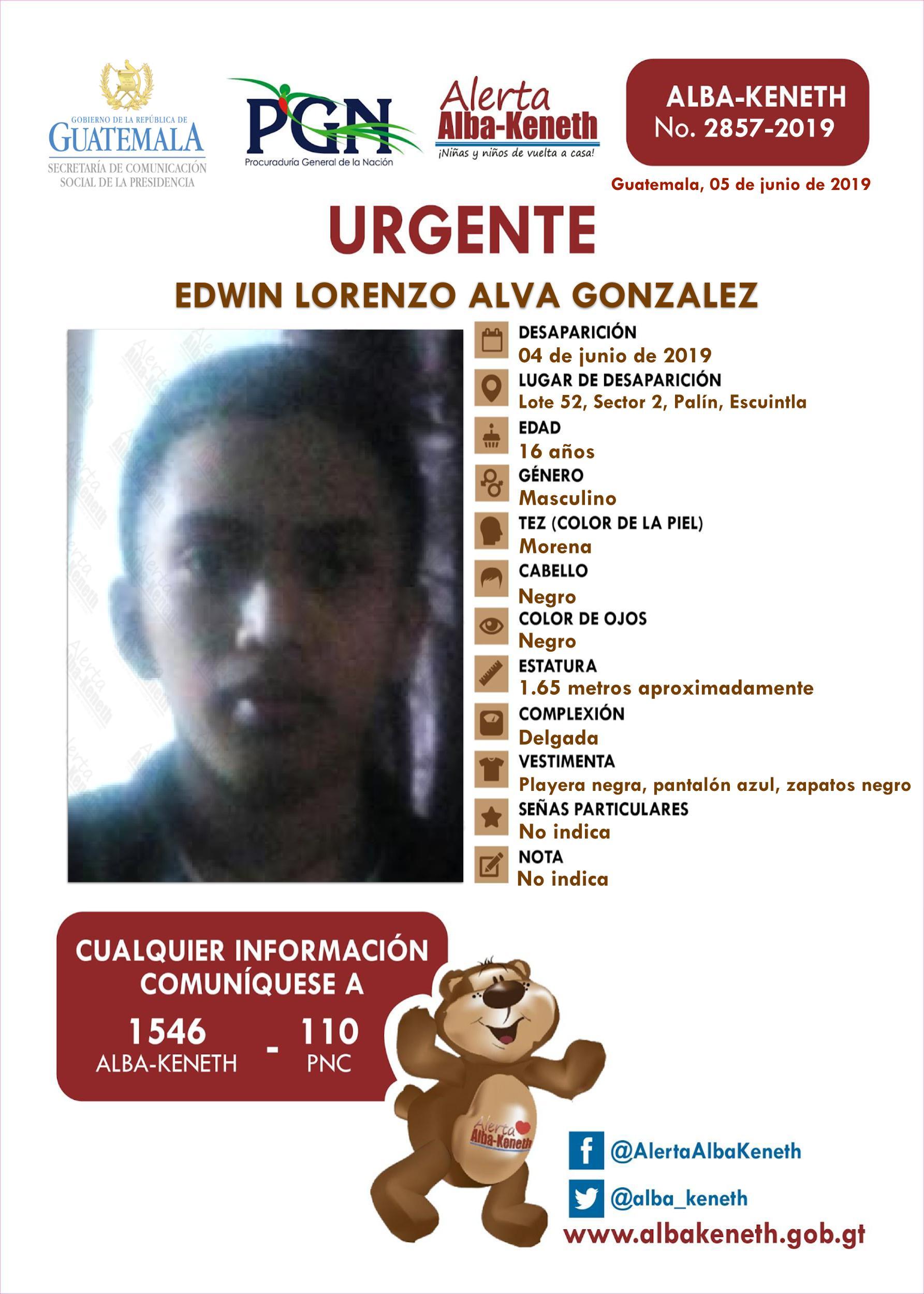 Edwin Lorenzo Alva Gonzalez
