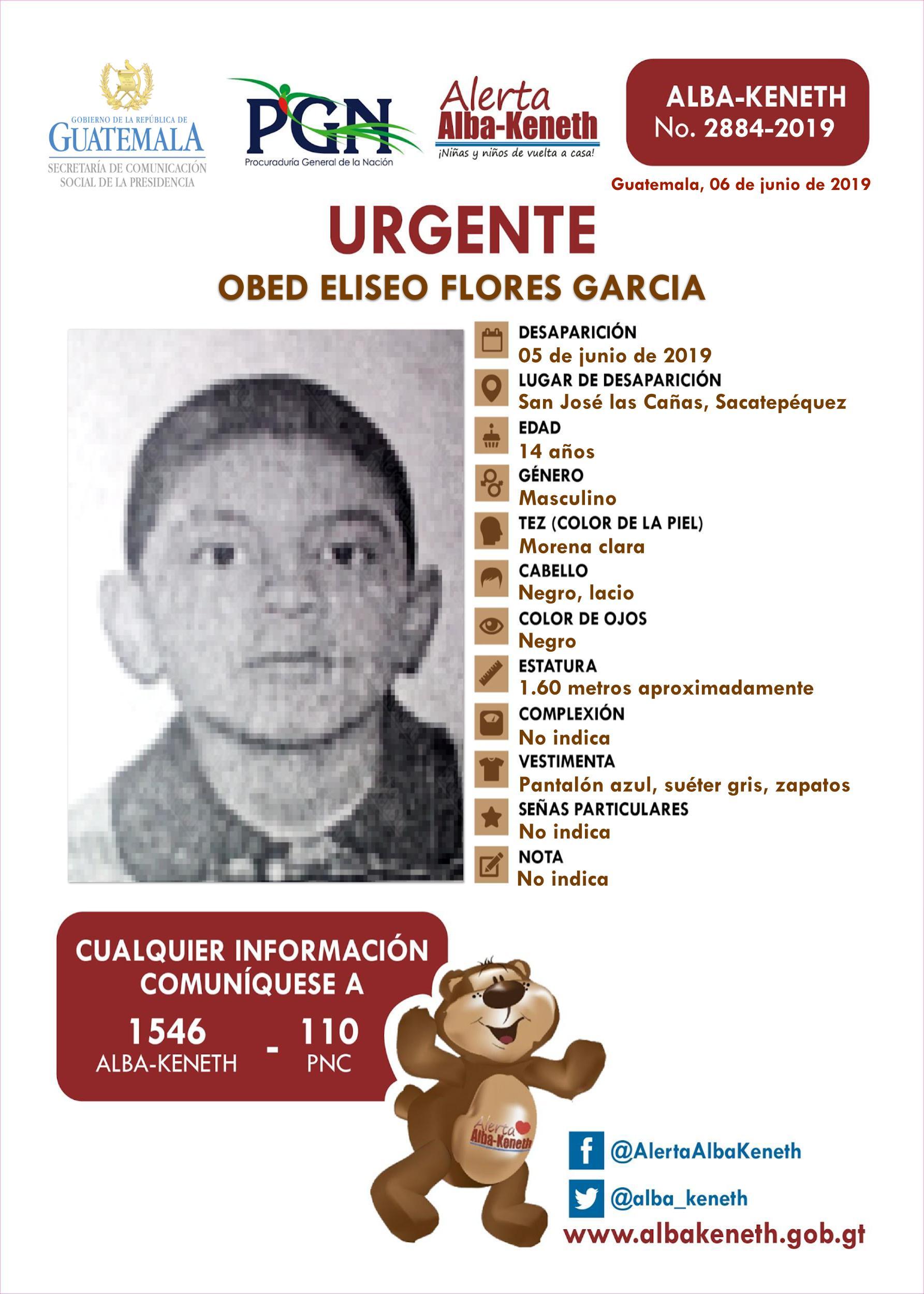 Obed Eliseo Flores Garcia
