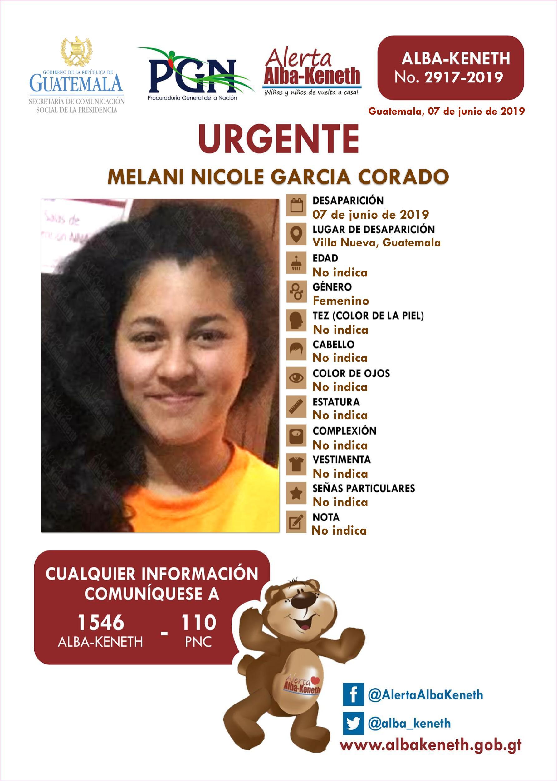Melani Nicole Garcia Corado