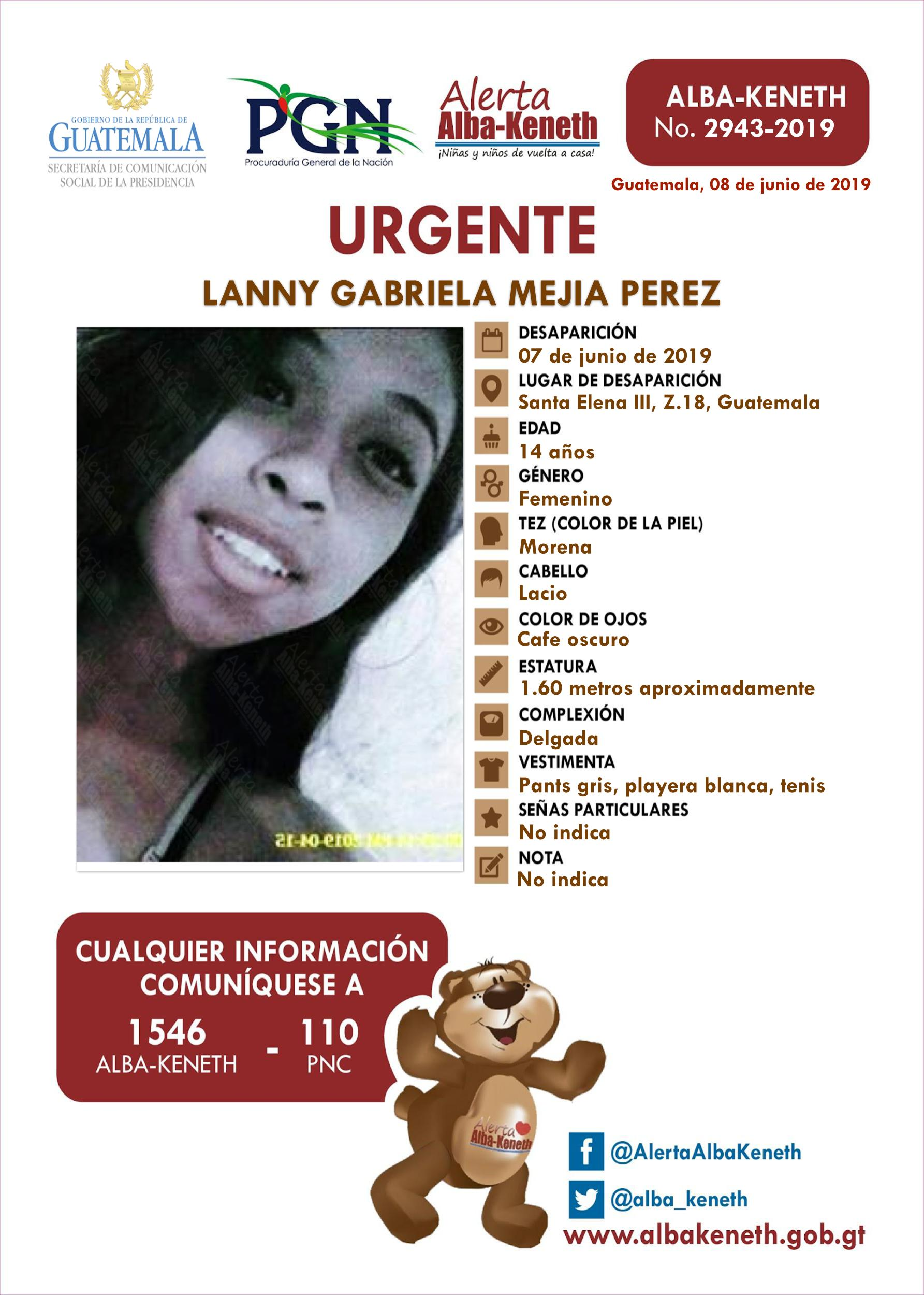 Lanny Gabriela Mejia Perez