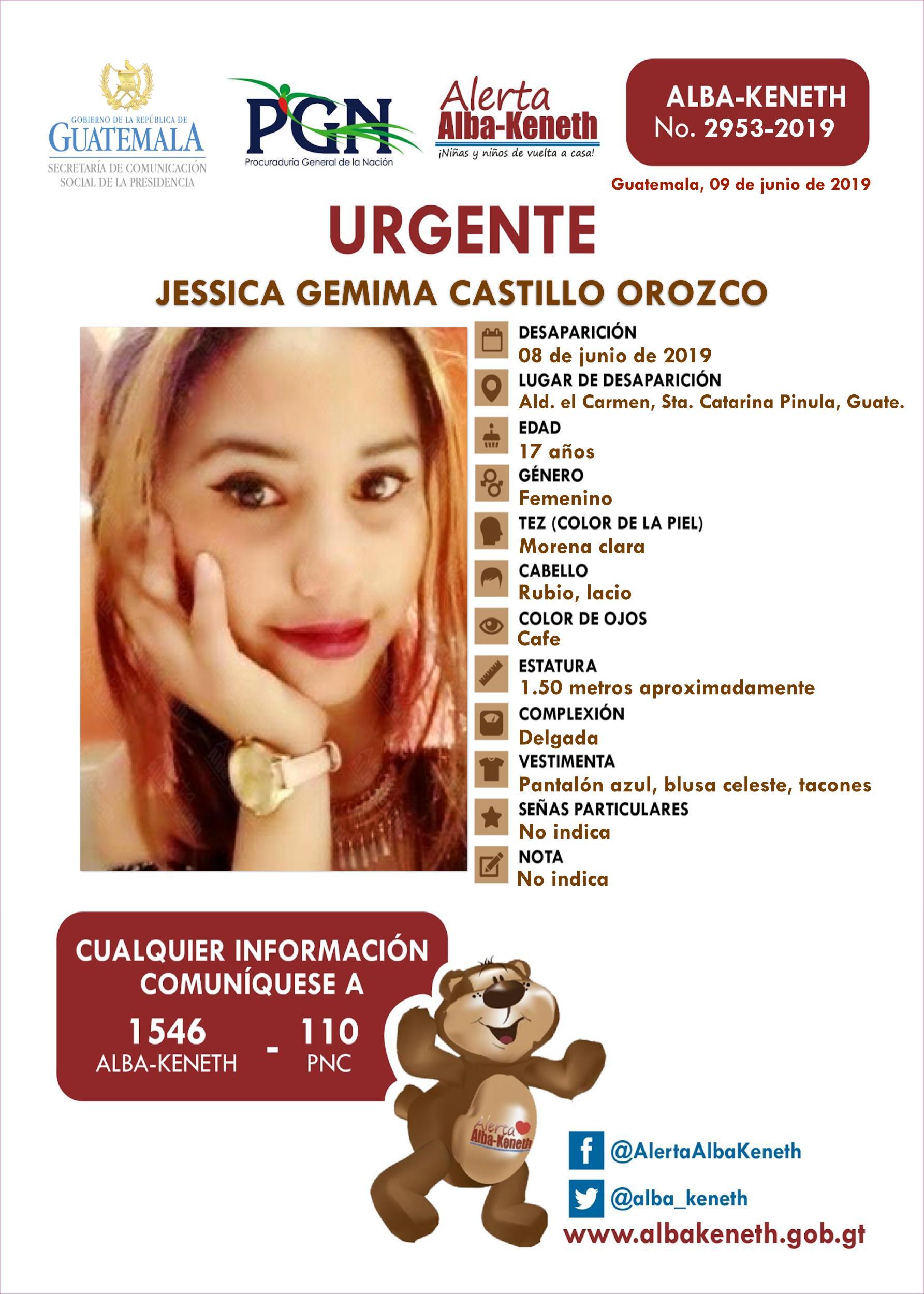 Jessica Gemima Castillo Orozco