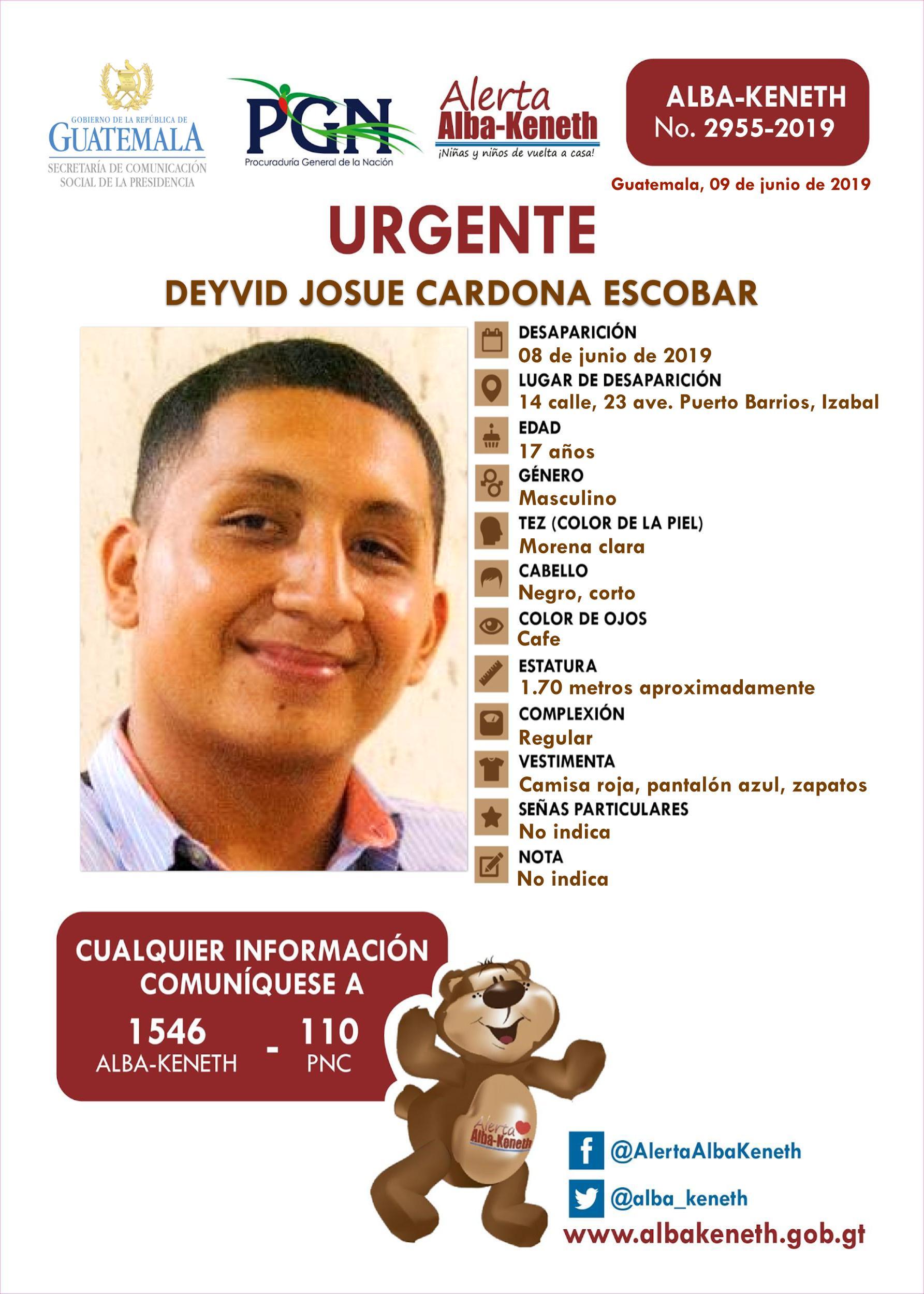 Deyvid Josue Cardona Escobar