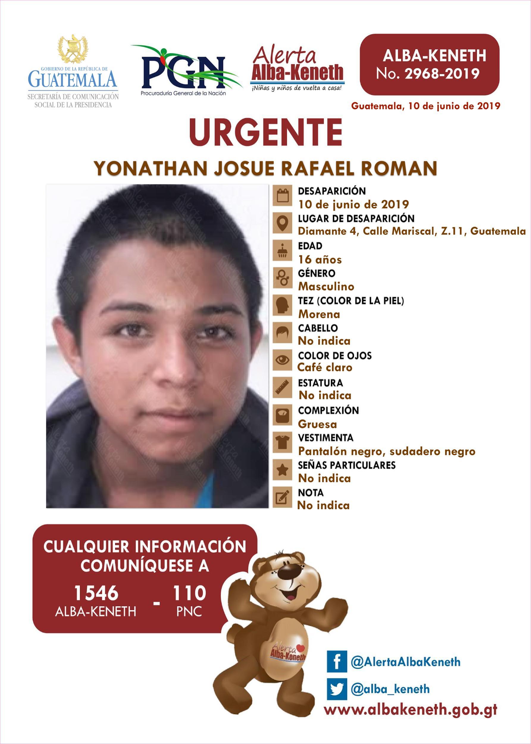 Yonathan Josue Rafael Roman