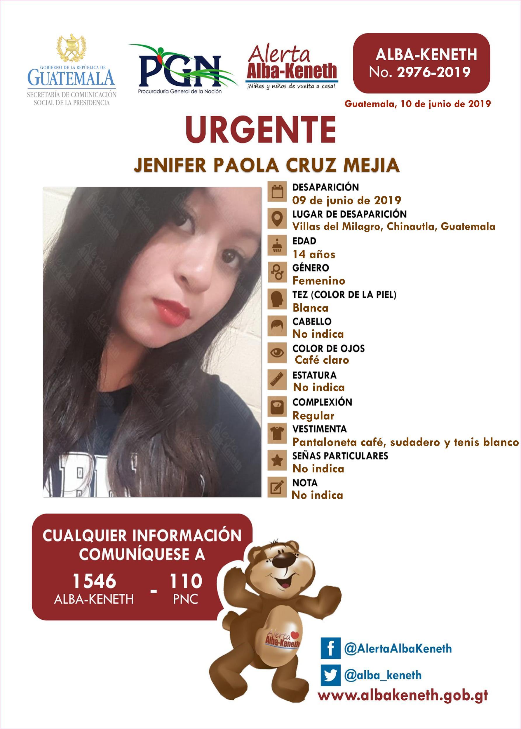 Jenifer Paola Cruz Mejia