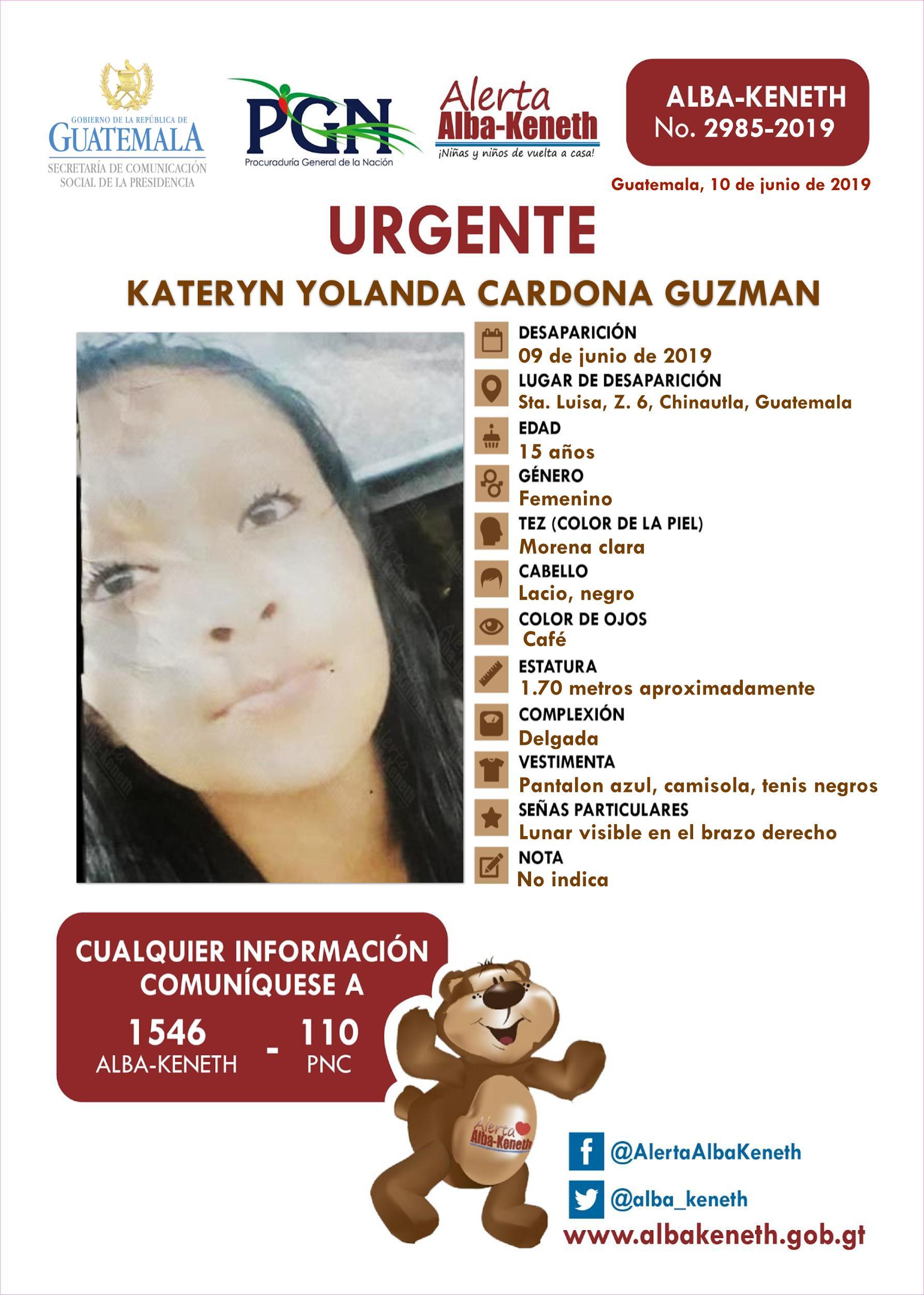 Kateryn Yolanda Cardona Guzman
