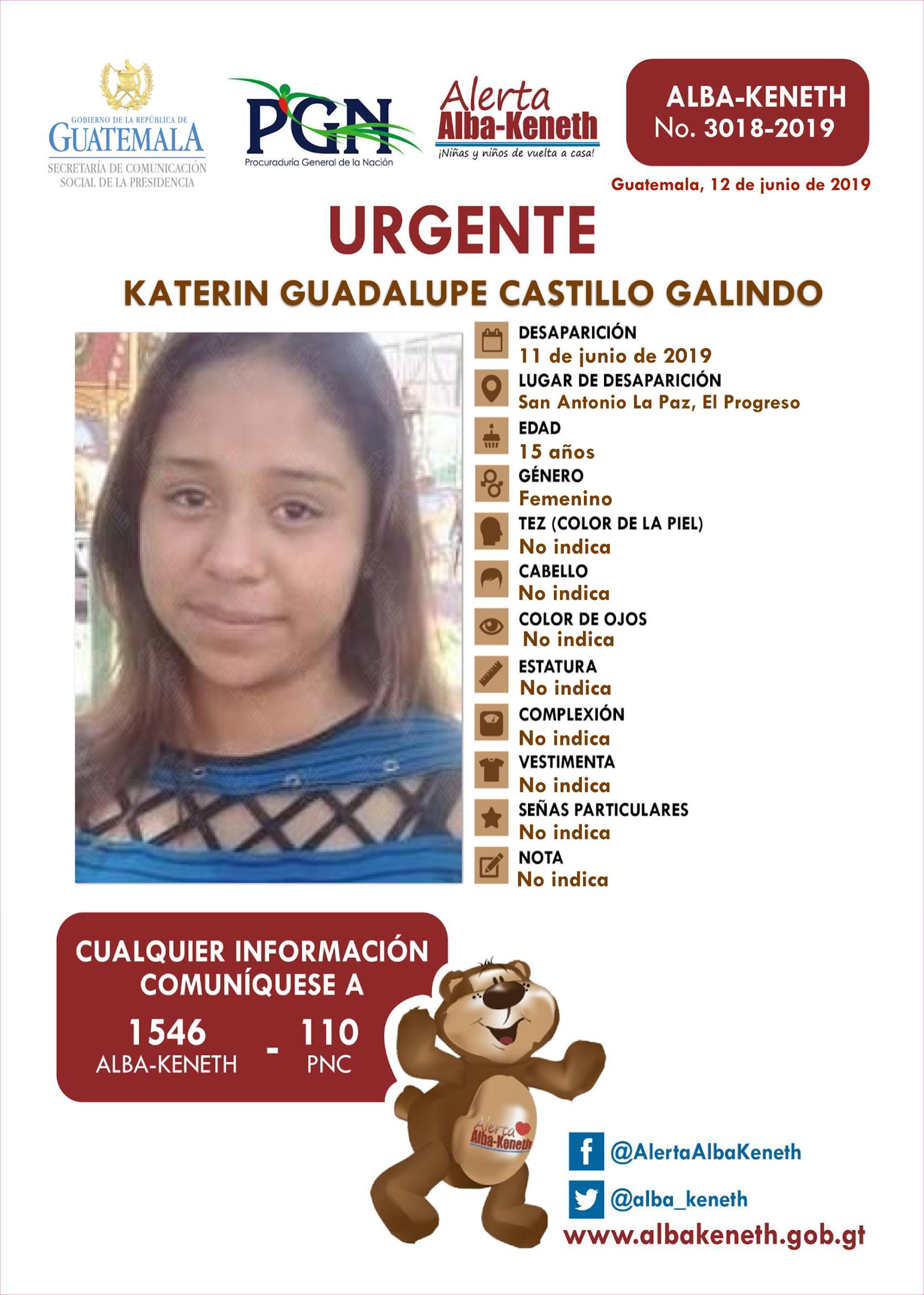 Katerin Guadalupe Castillo Galindo