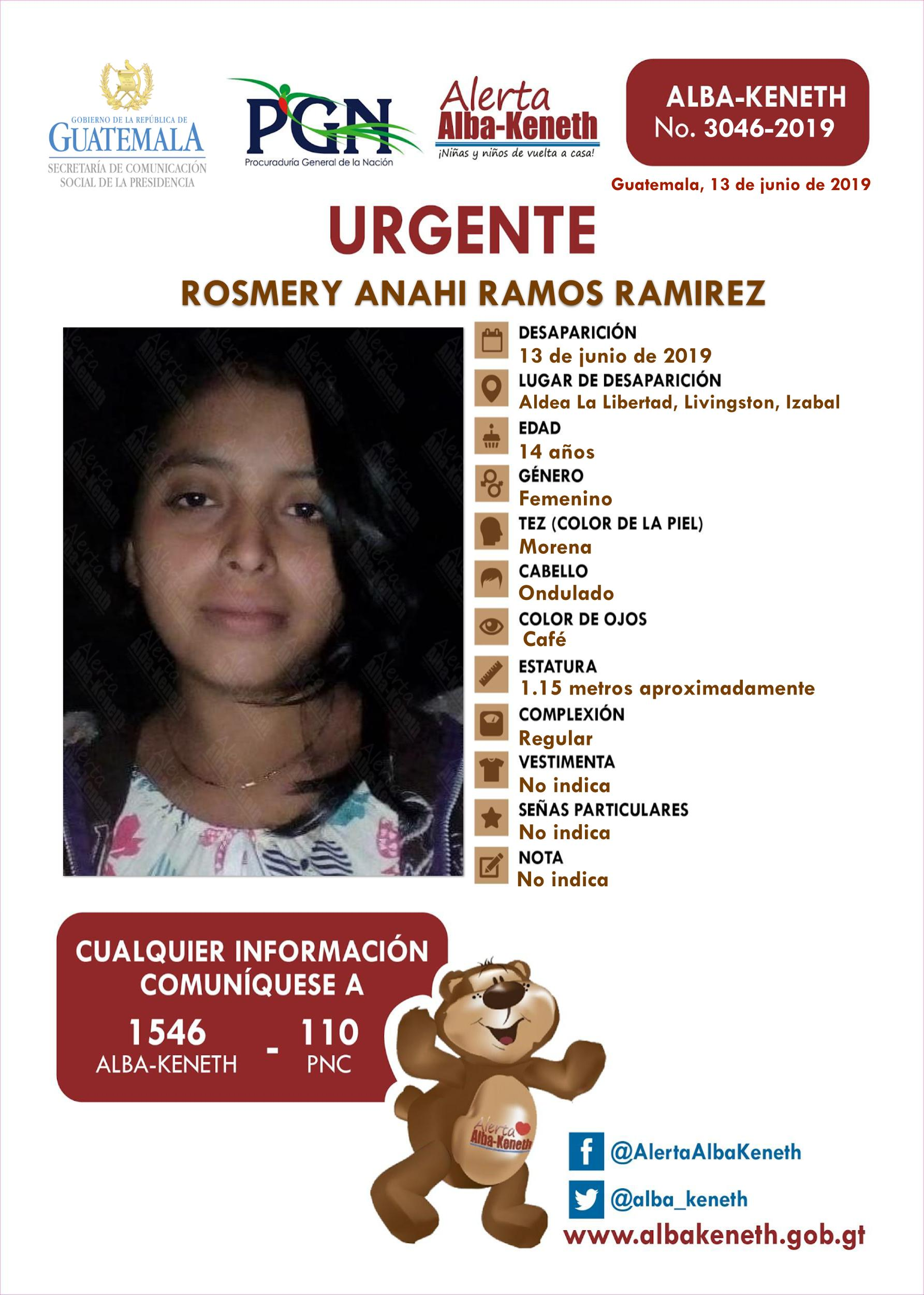 Rosmery Anahi Ramos Ramirez