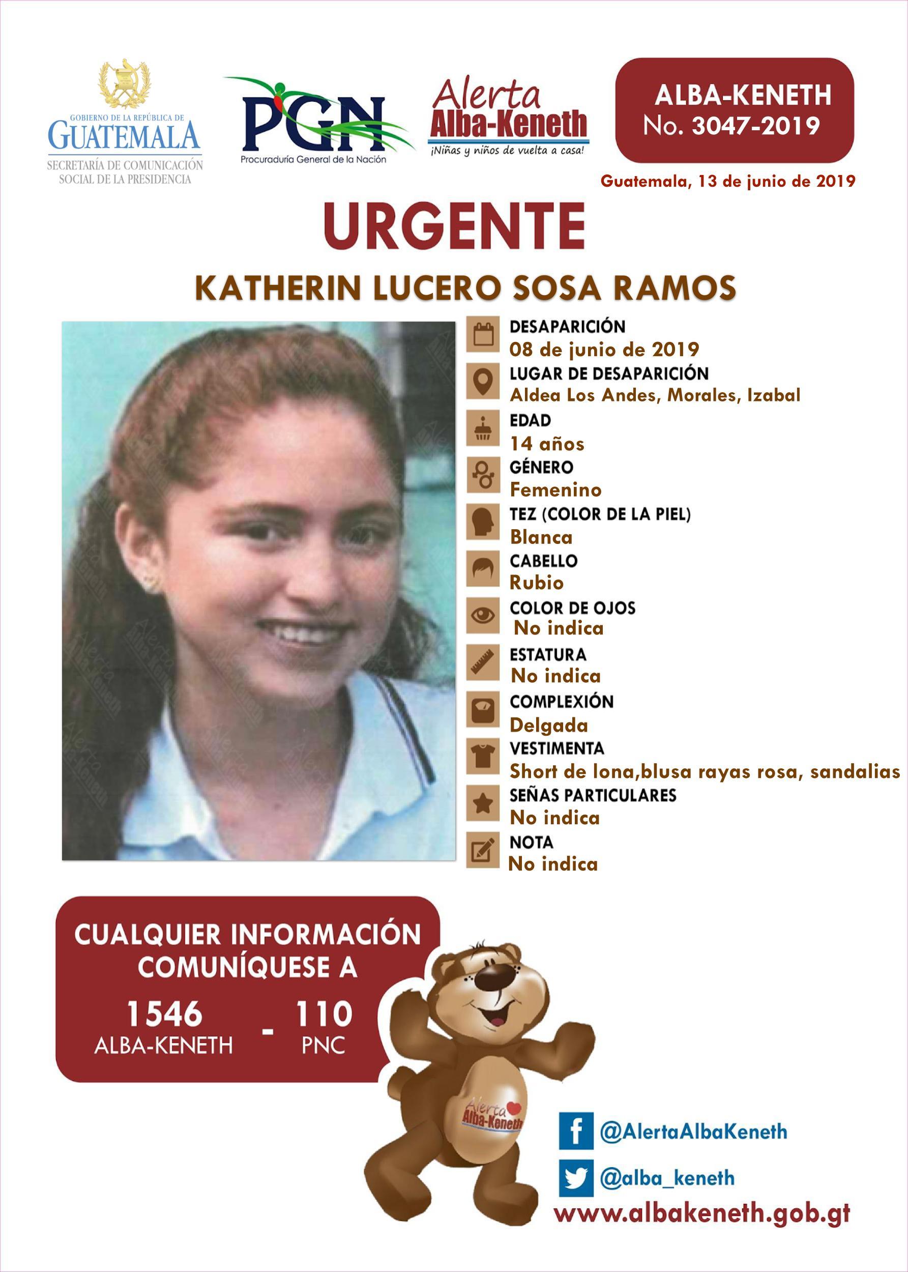 Katherin Lucero Sosa Ramos