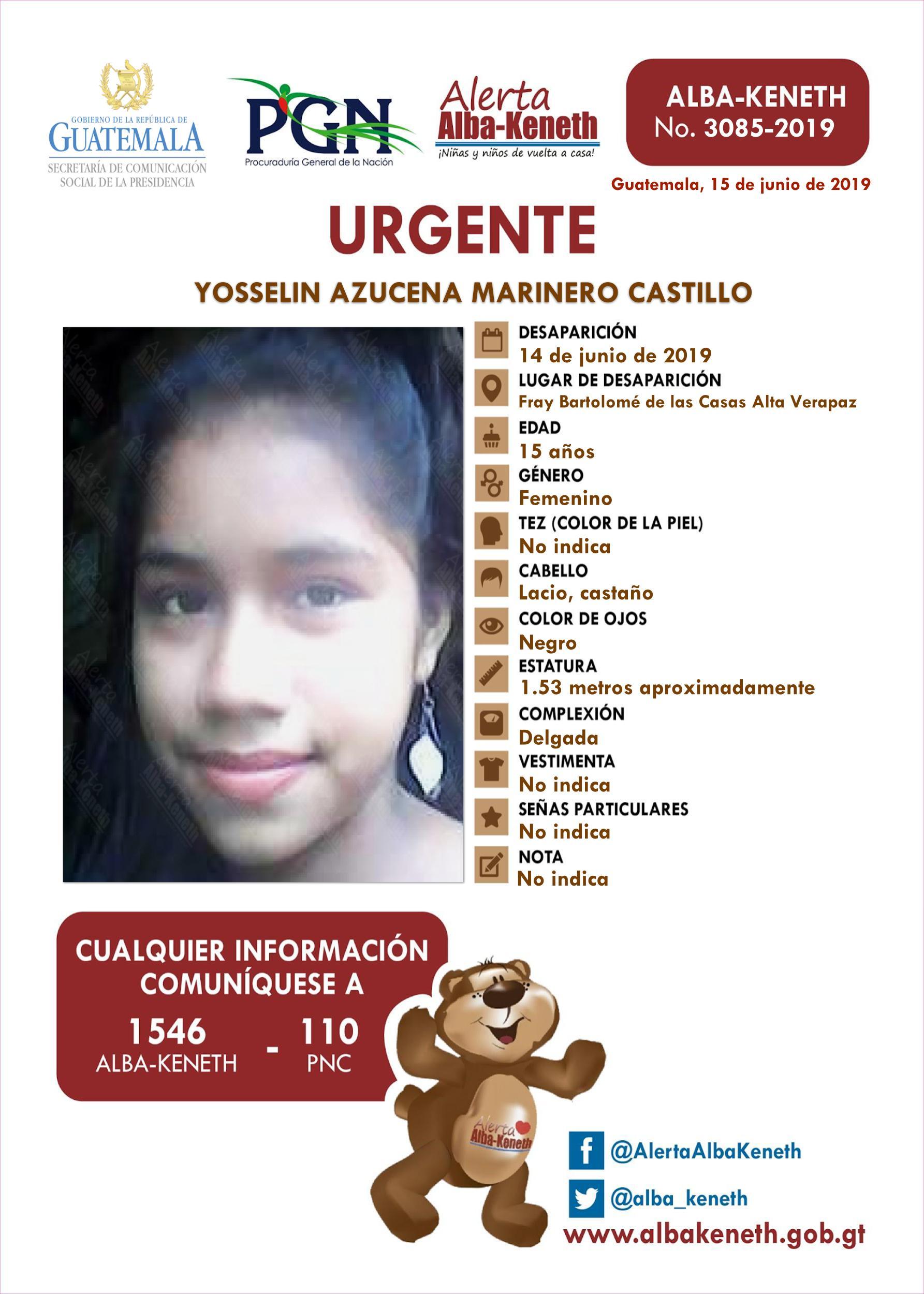 Yosselin Azucena Marinero Castillo