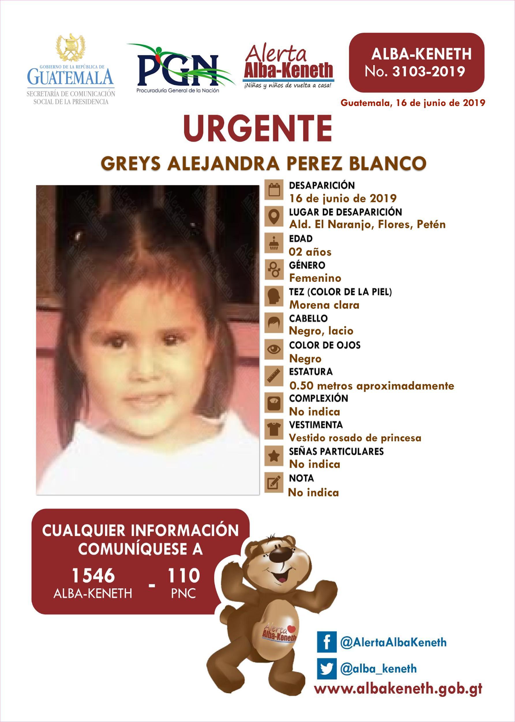 Greys Alejandra Perez Blanco