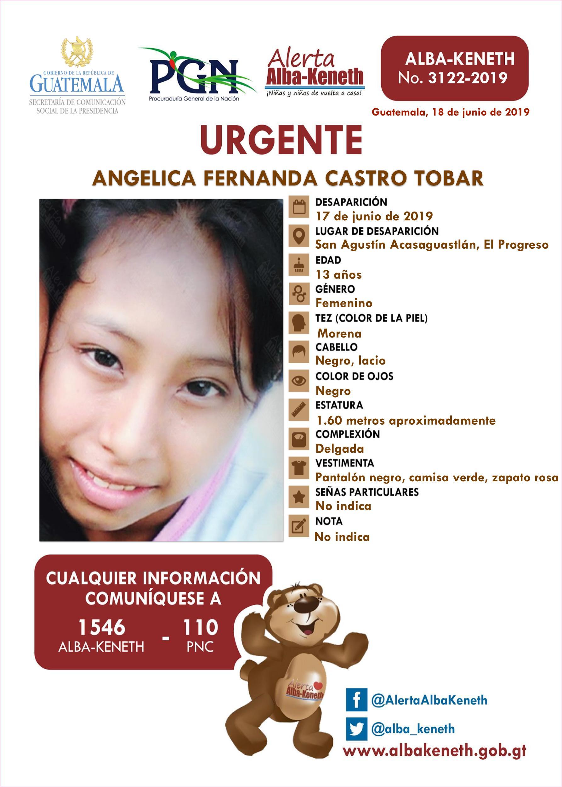 Angelica Fernanda Castro Tobar